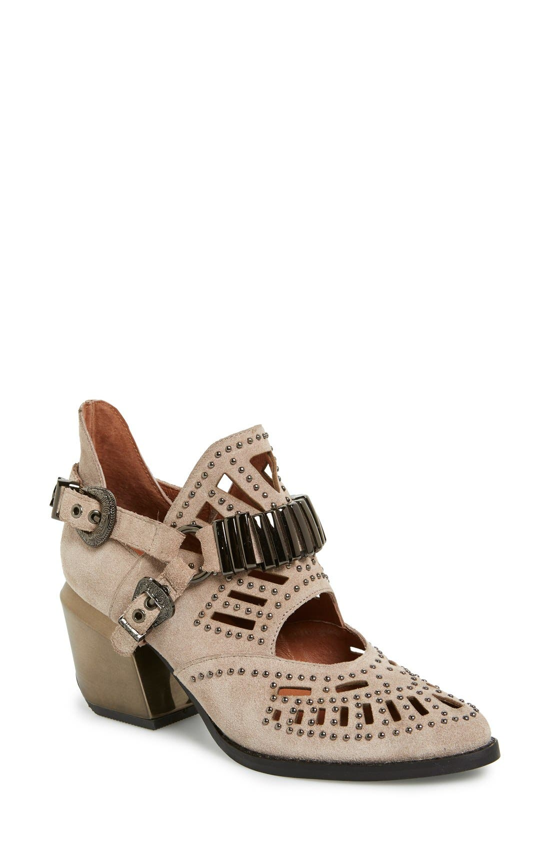 Alternate Image 1 Selected - Jeffrey Campbell 'Calhoun' Ankle Boot (Women)