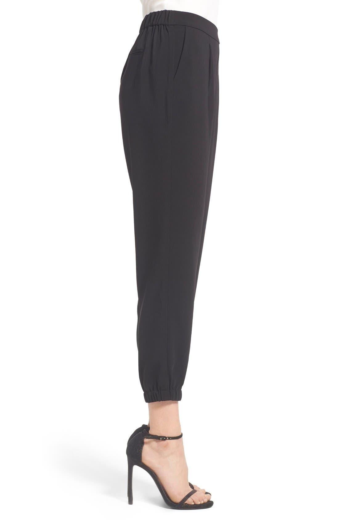 Alternate Image 4  - Trouvé Stretch Crepe Jogger Pants