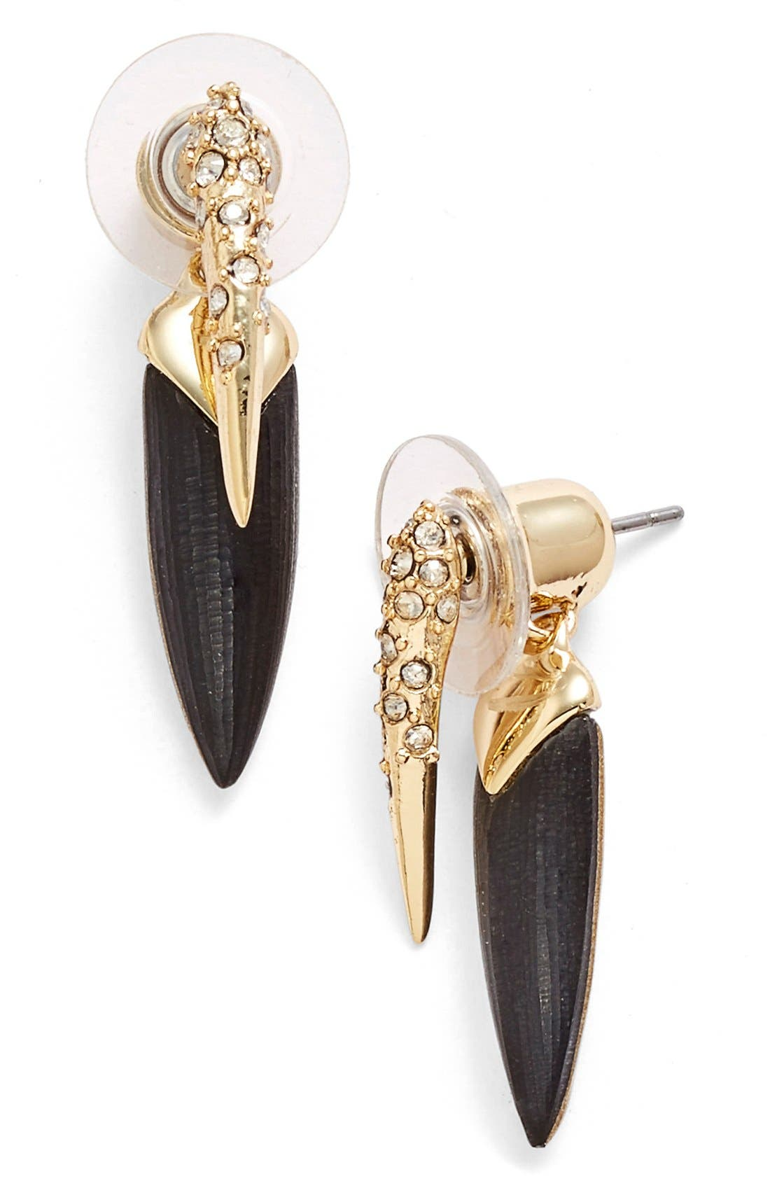 Alternate Image 1 Selected - Alexis Bittar 'Lucite® Metal' Spike Ear Jackets