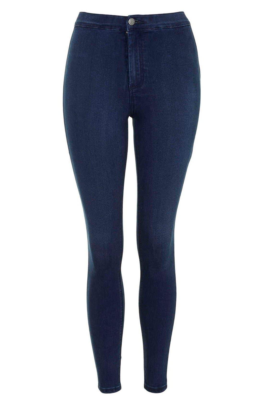Alternate Image 4  - Topshop 'Joni' Crop Super Skinny Jeans (Petite)