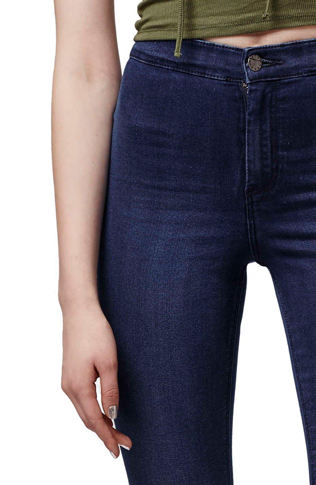 Alternate Image 5  - Topshop 'Joni' Crop Super Skinny Jeans (Petite)