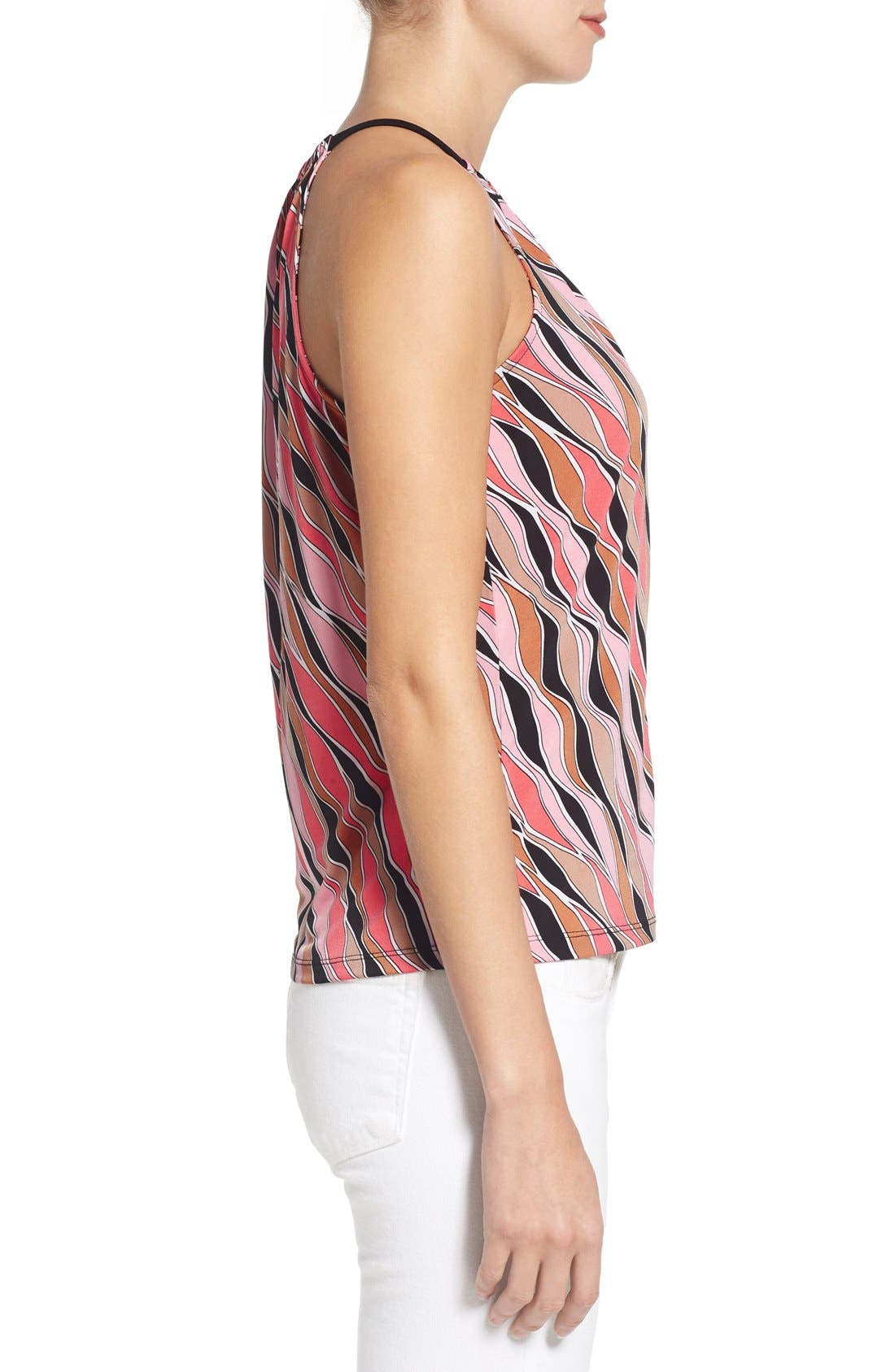 Alternate Image 3  - MICHAEL Michael Kors 'Coley' Print Jersey Halter Style Top