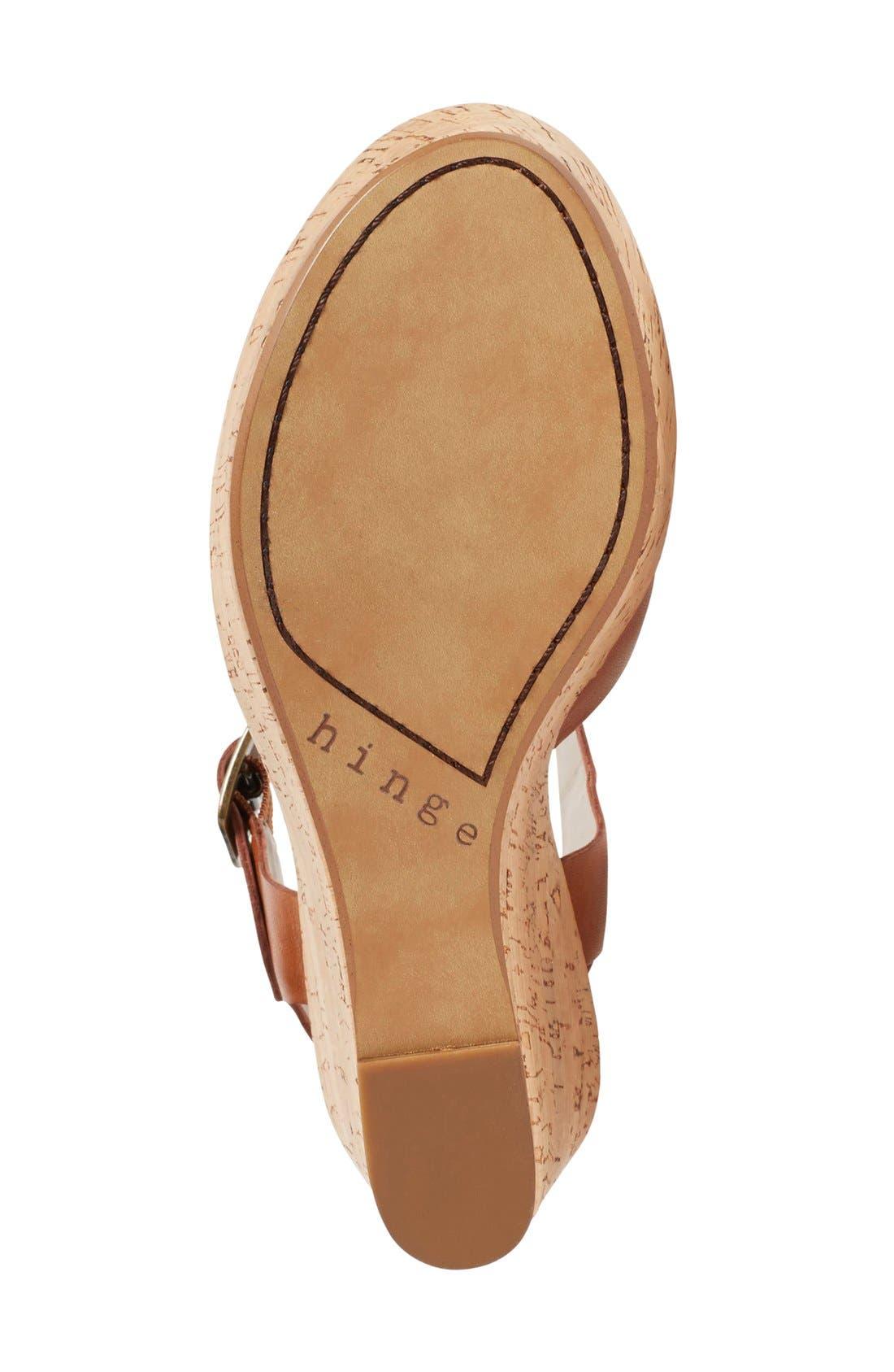 Alternate Image 4  - Hinge 'Hadley' Wedge Sandal (Women)