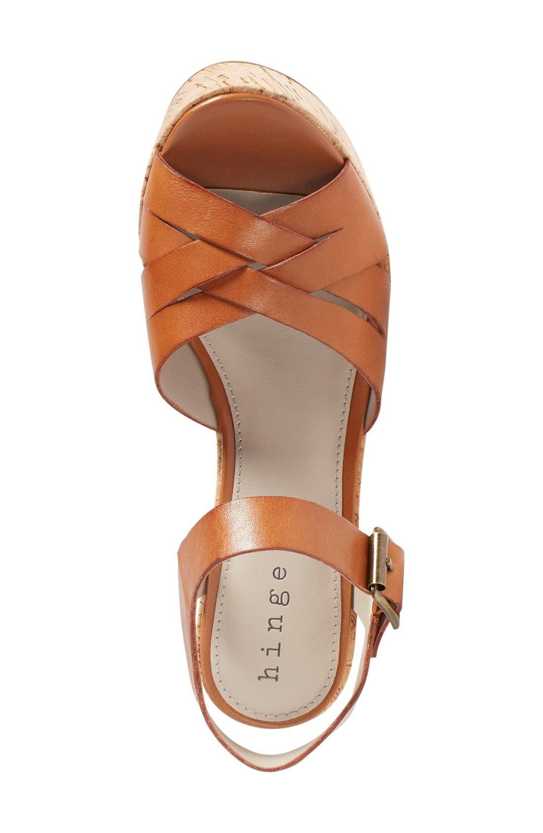 Alternate Image 3  - Hinge 'Hadley' Wedge Sandal (Women)