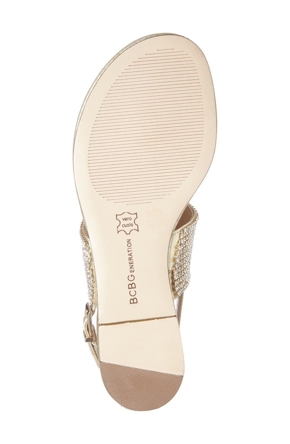 Alternate Image 4  - BCBGeneration 'Wander' Embellished Flat Sandal (Women)