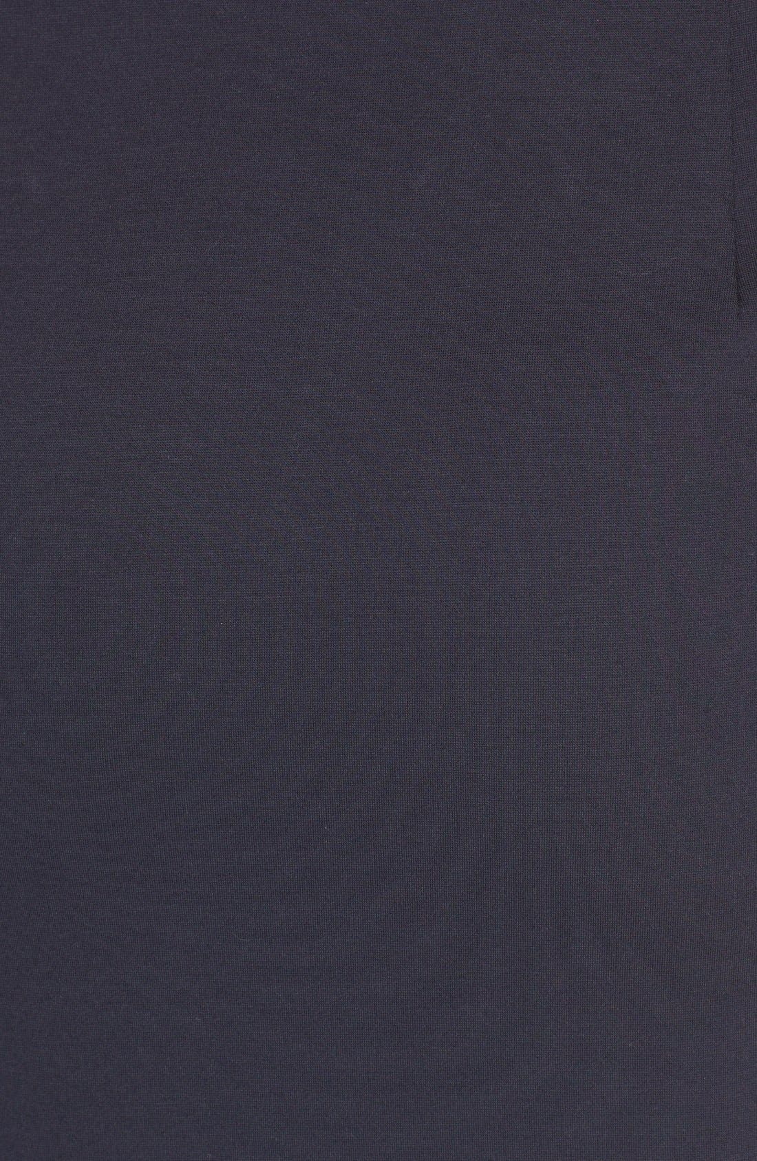 Alternate Image 5  - N Nicholas 'Ponti Curve' Halter Dress with Asymmetrical Hem