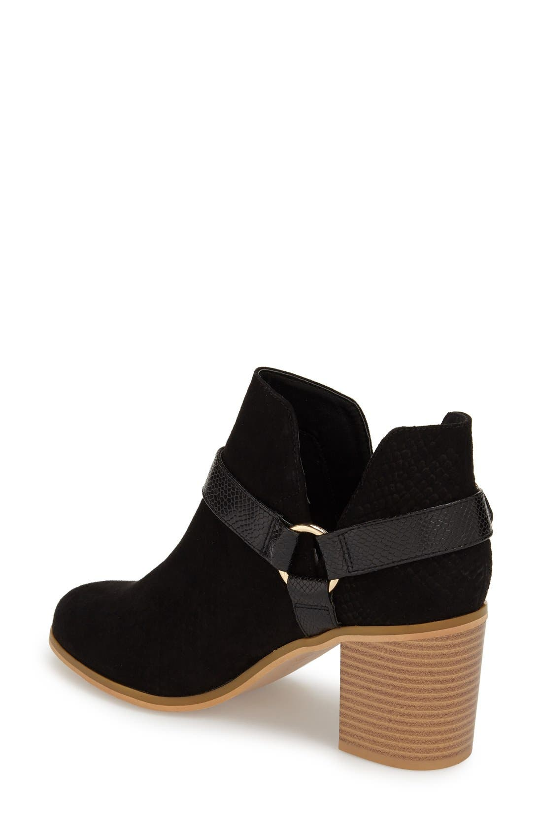 Alternate Image 2  - Topshop 'Beckley' Ring Strap Bootie (Women)
