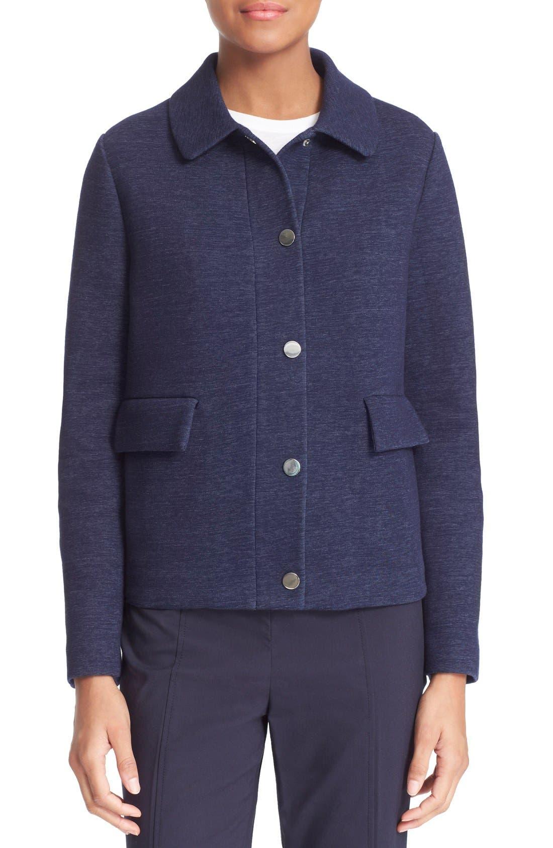 Alternate Image 4  - Tory Burch Hooded Jacket