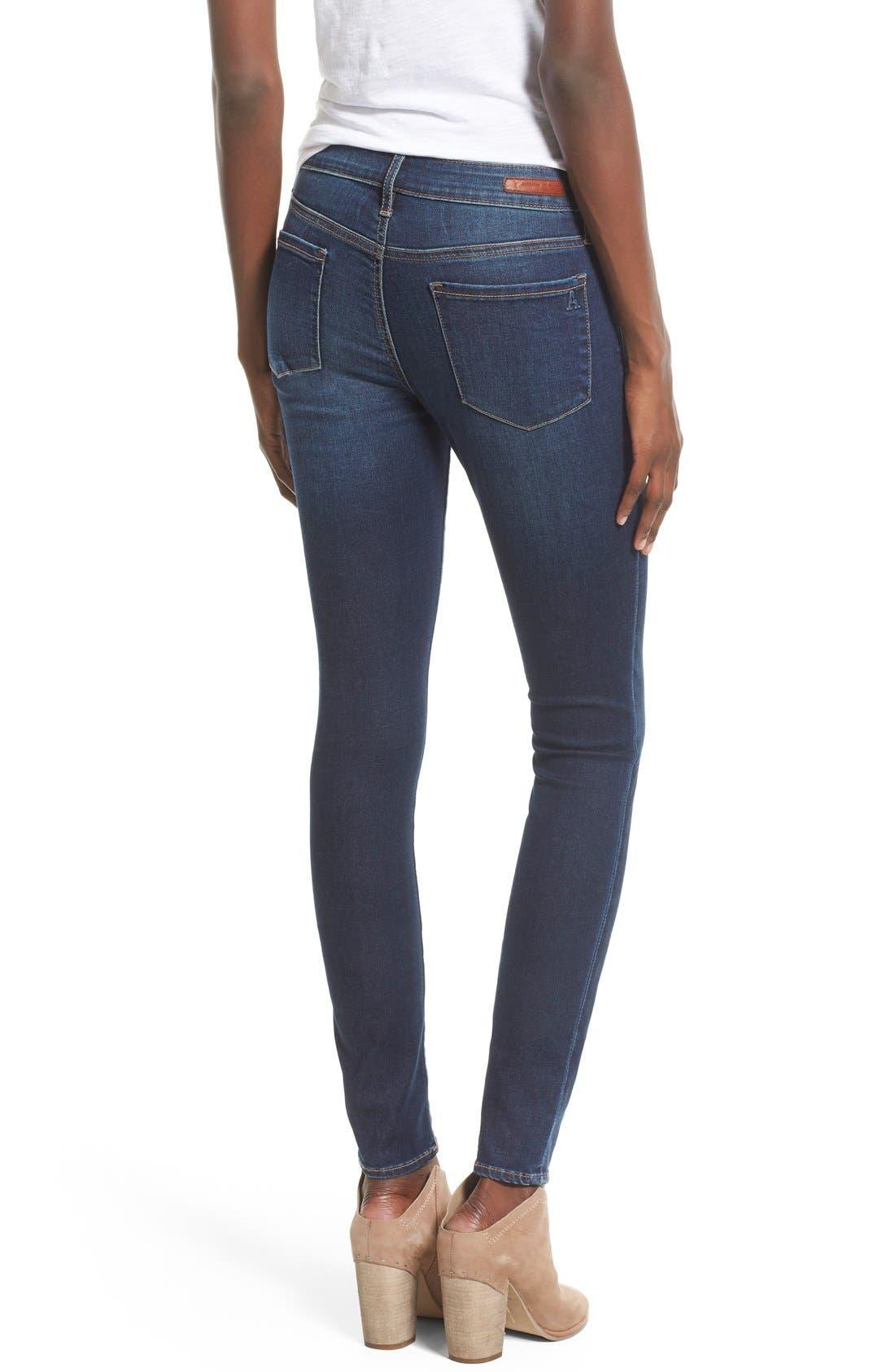 Alternate Image 2  - Articles of Society 'Mya' Skinny Jeans (Tahoe)