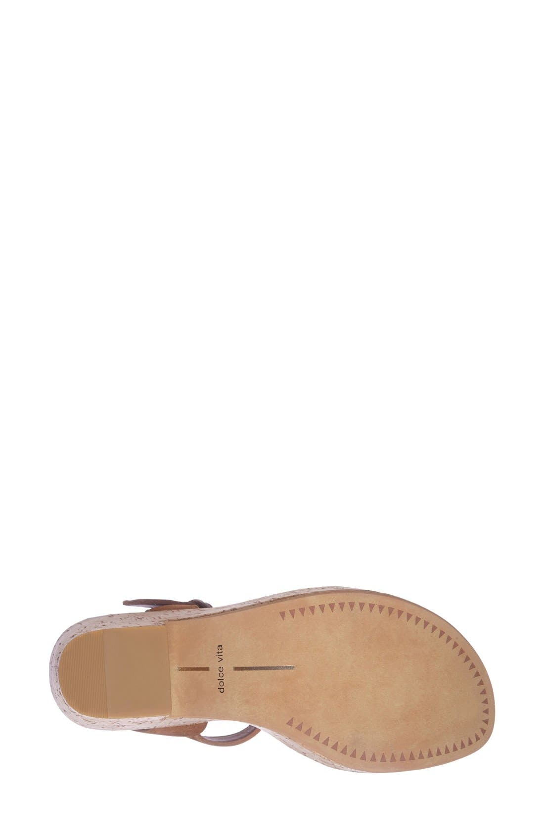 Alternate Image 4  - Dolce Vita 'Randi' Platform Sandal (Women)