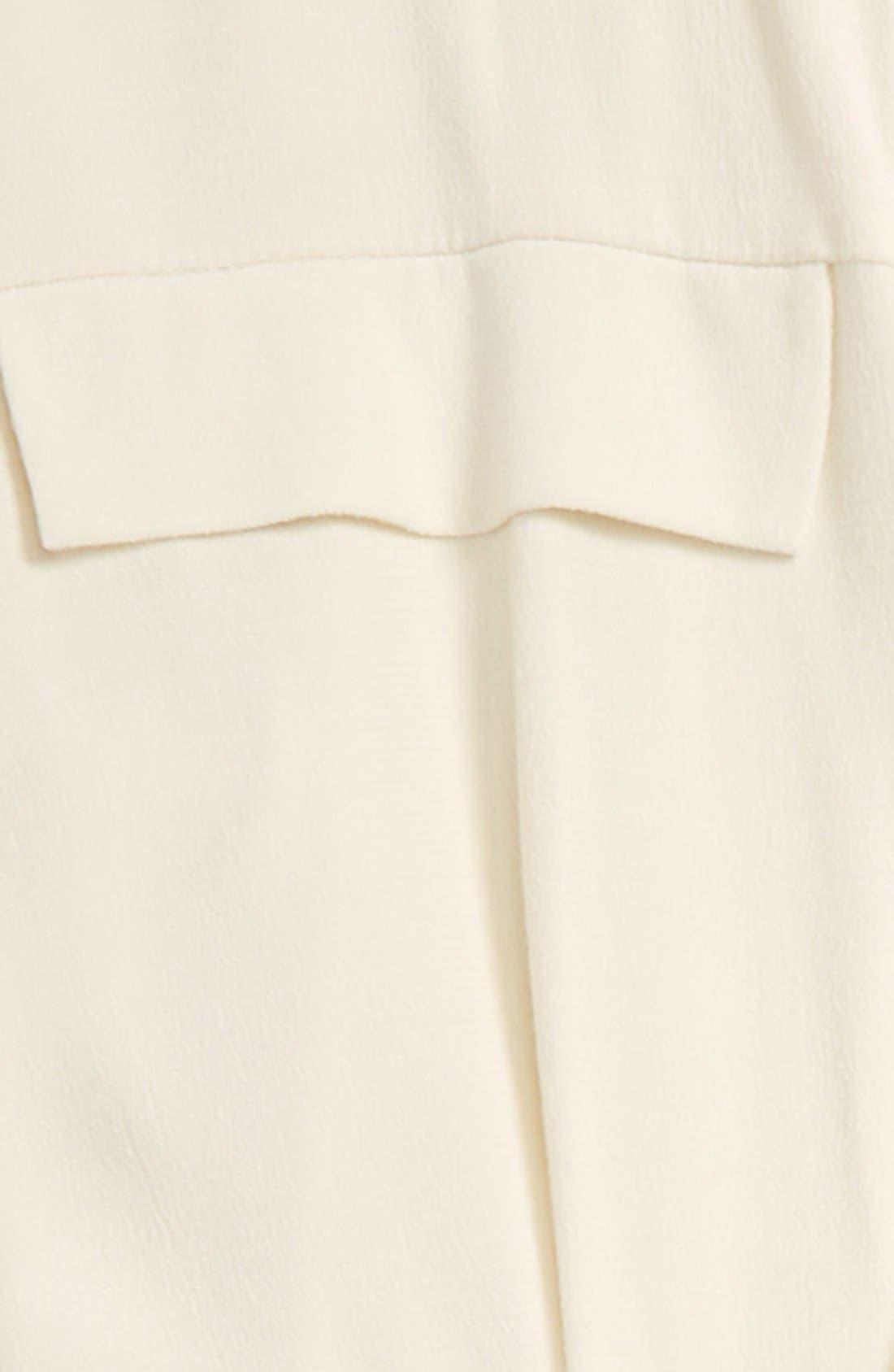 Alternate Image 4  - Topshop Lace-Up Long Sleeve Romper