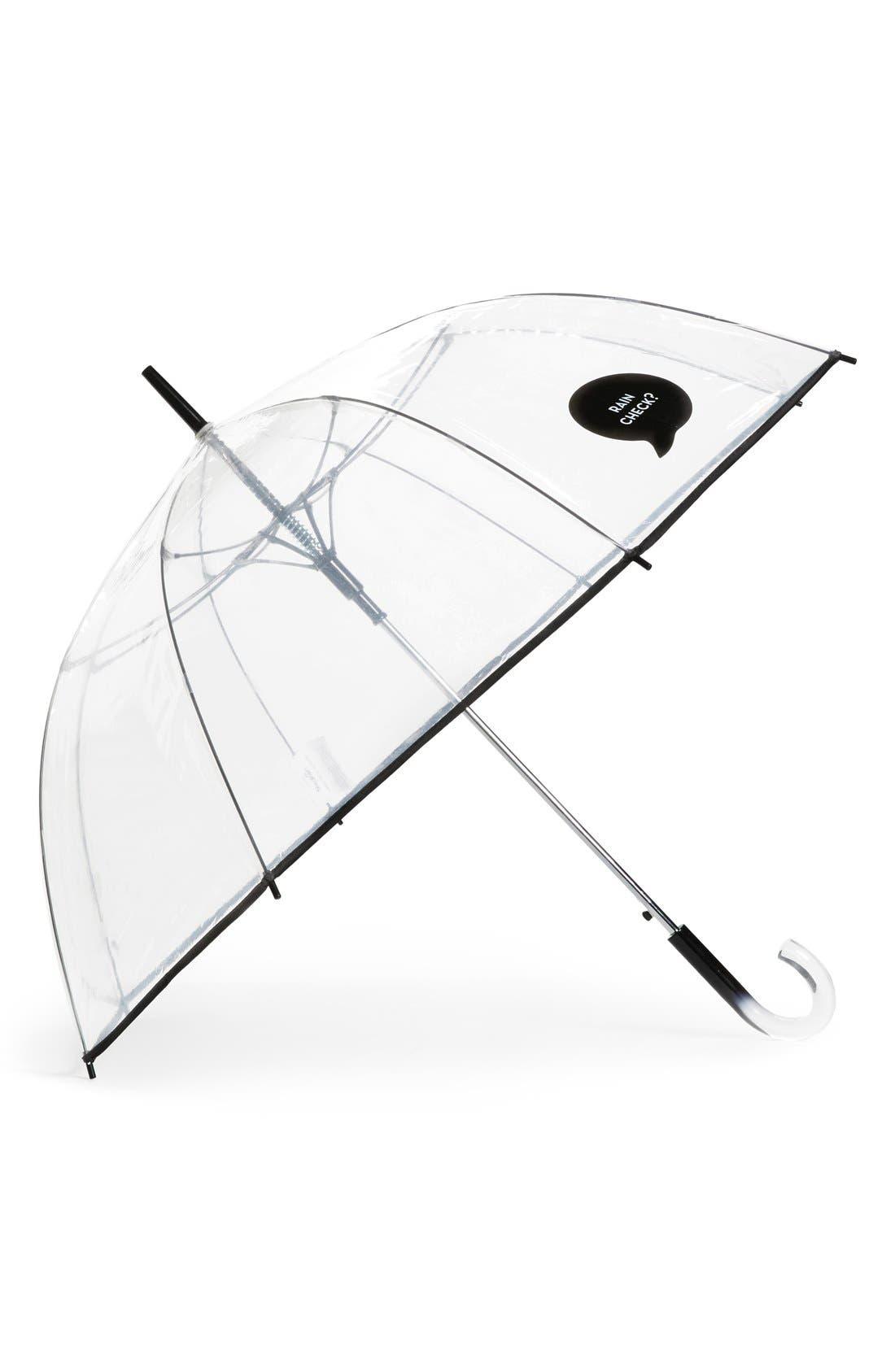 Alternate Image 1 Selected - ShedRain 'The Bubble' Auto Open Stick Umbrella