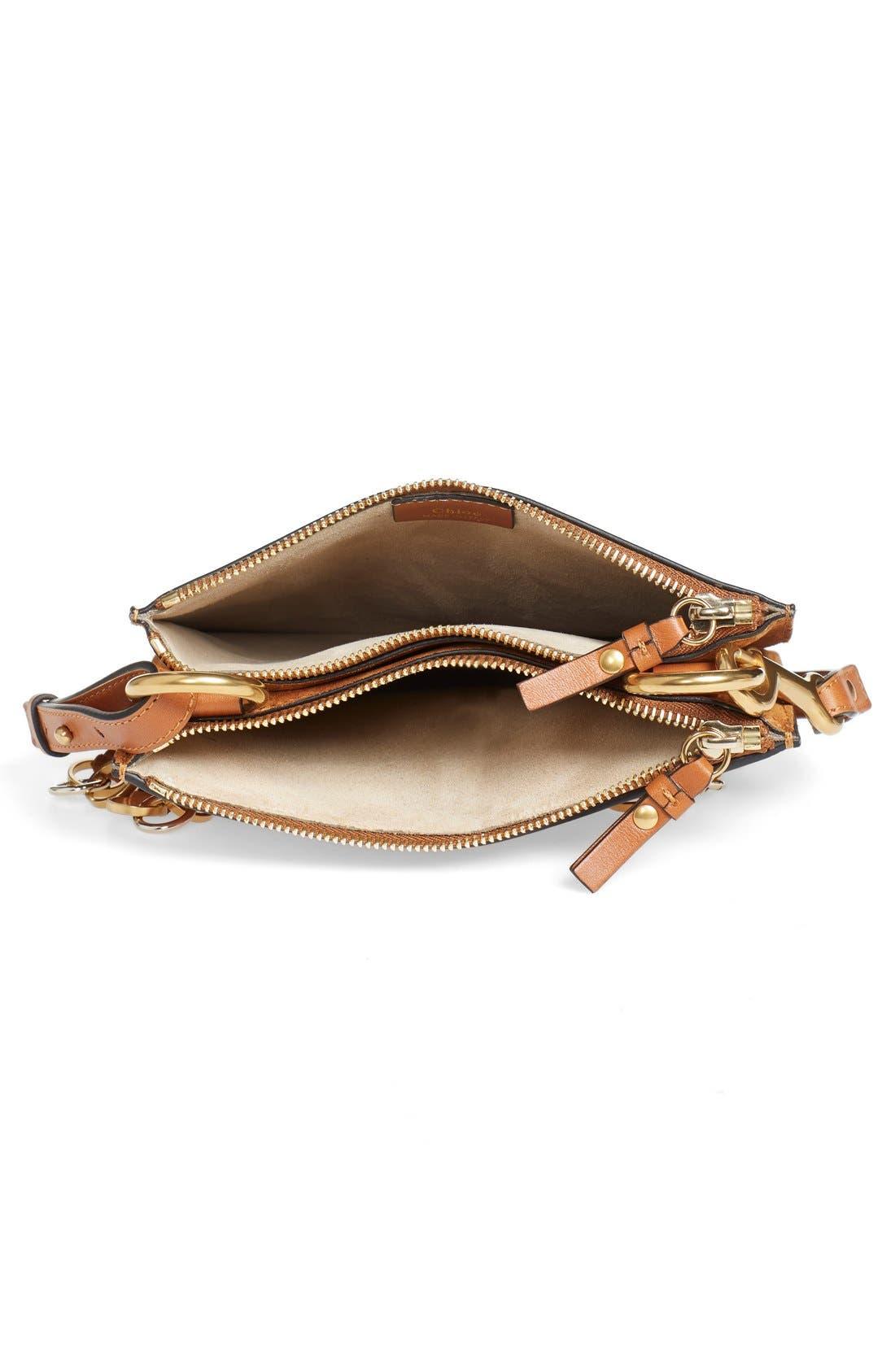 Alternate Image 3  - Chloé 'Small Jane' Tassel Suede & Leather Crossbody Bag
