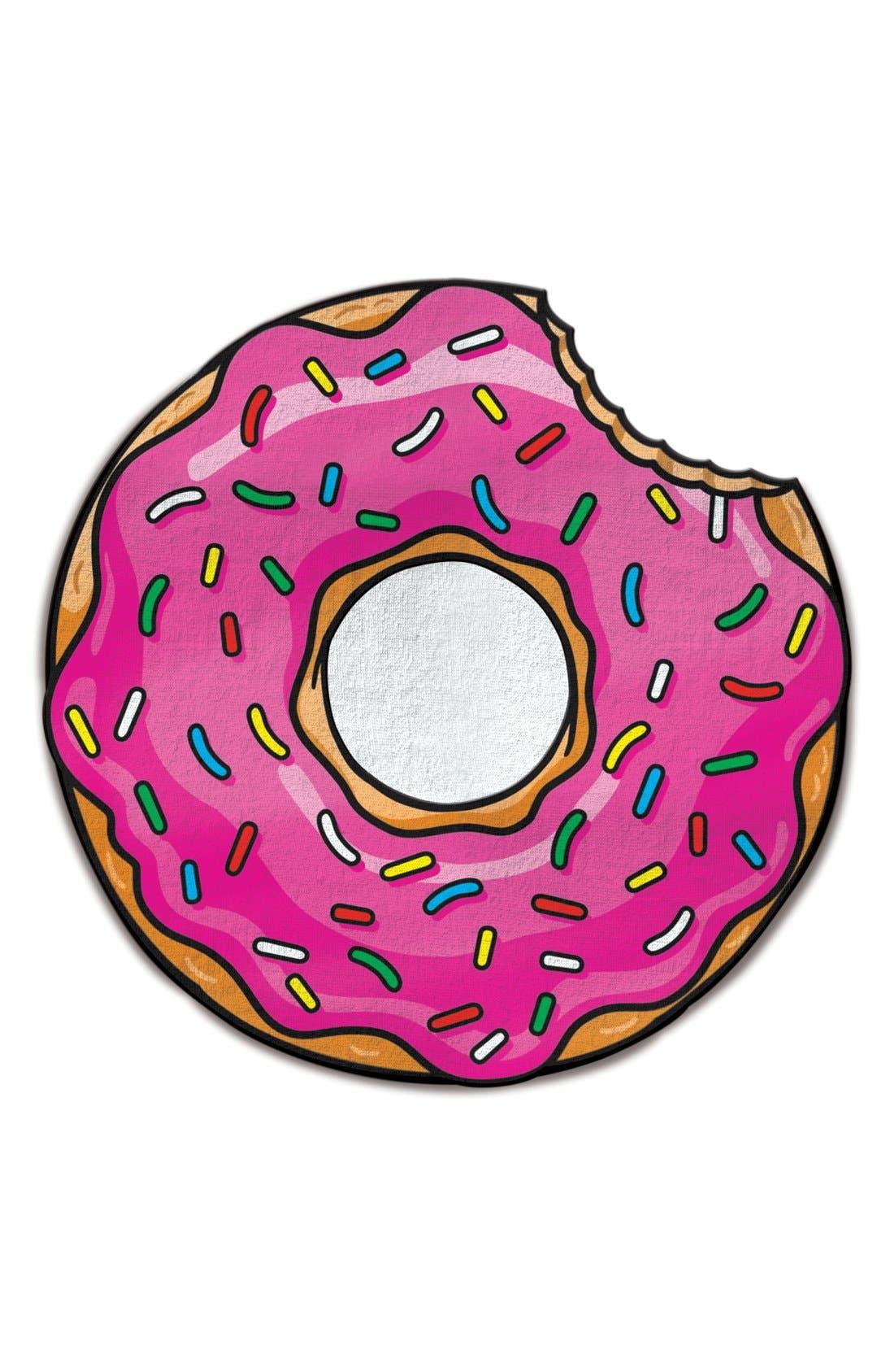 Bigmouth Inc Donut Microfiber Beach Blanket Nordstrom
