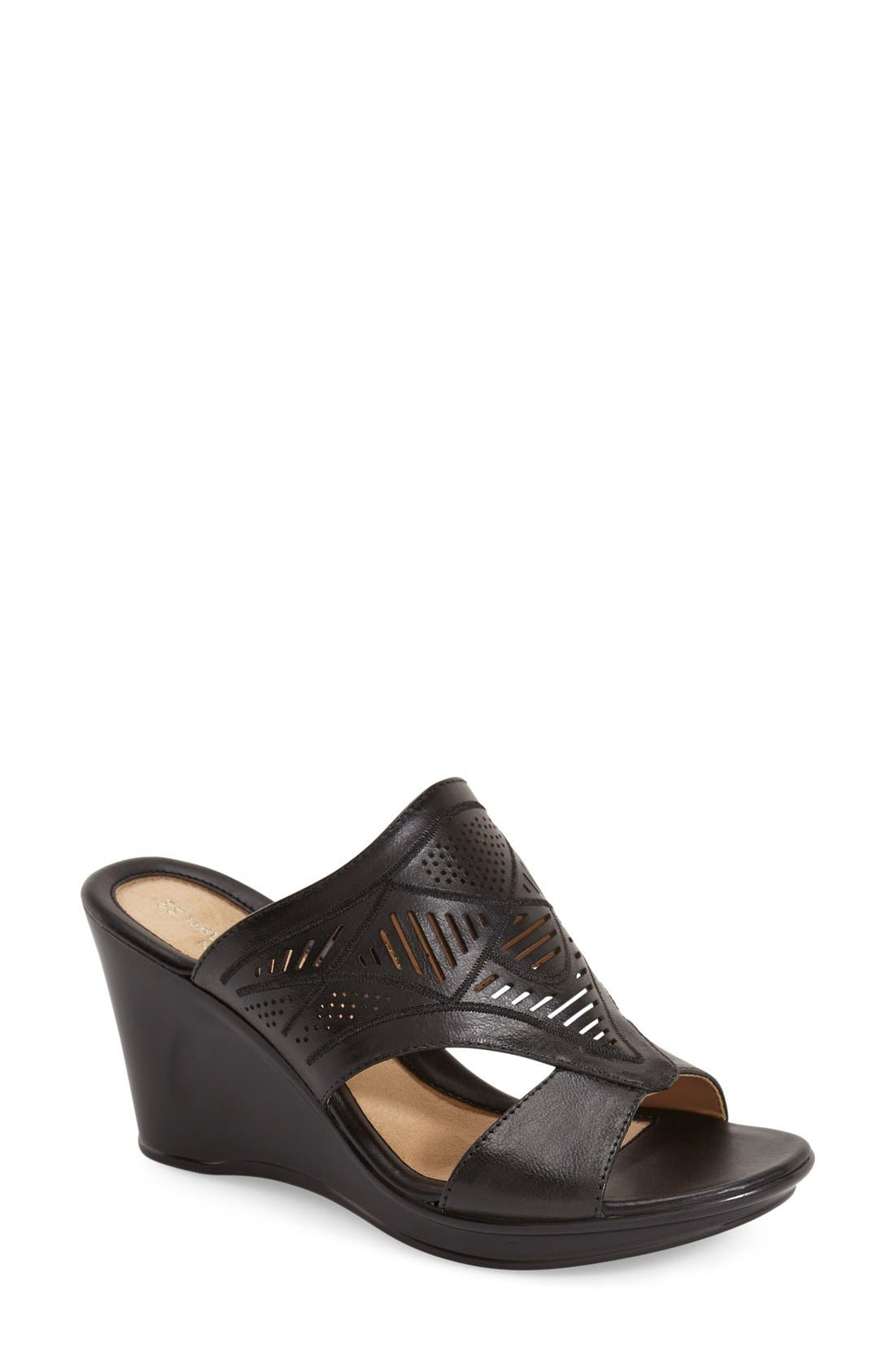 Alternate Image 1 Selected - Naturalizer 'Oshea' Wedge Sandal (Women)