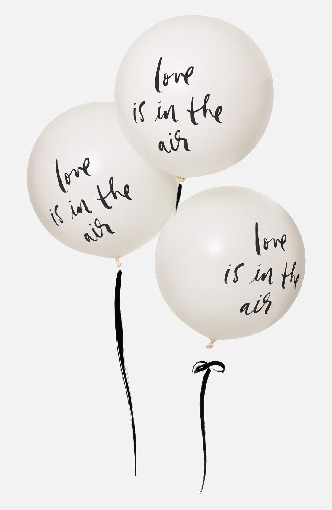 Alternate Image 2  - kate spade new york'love is in the air' balloons