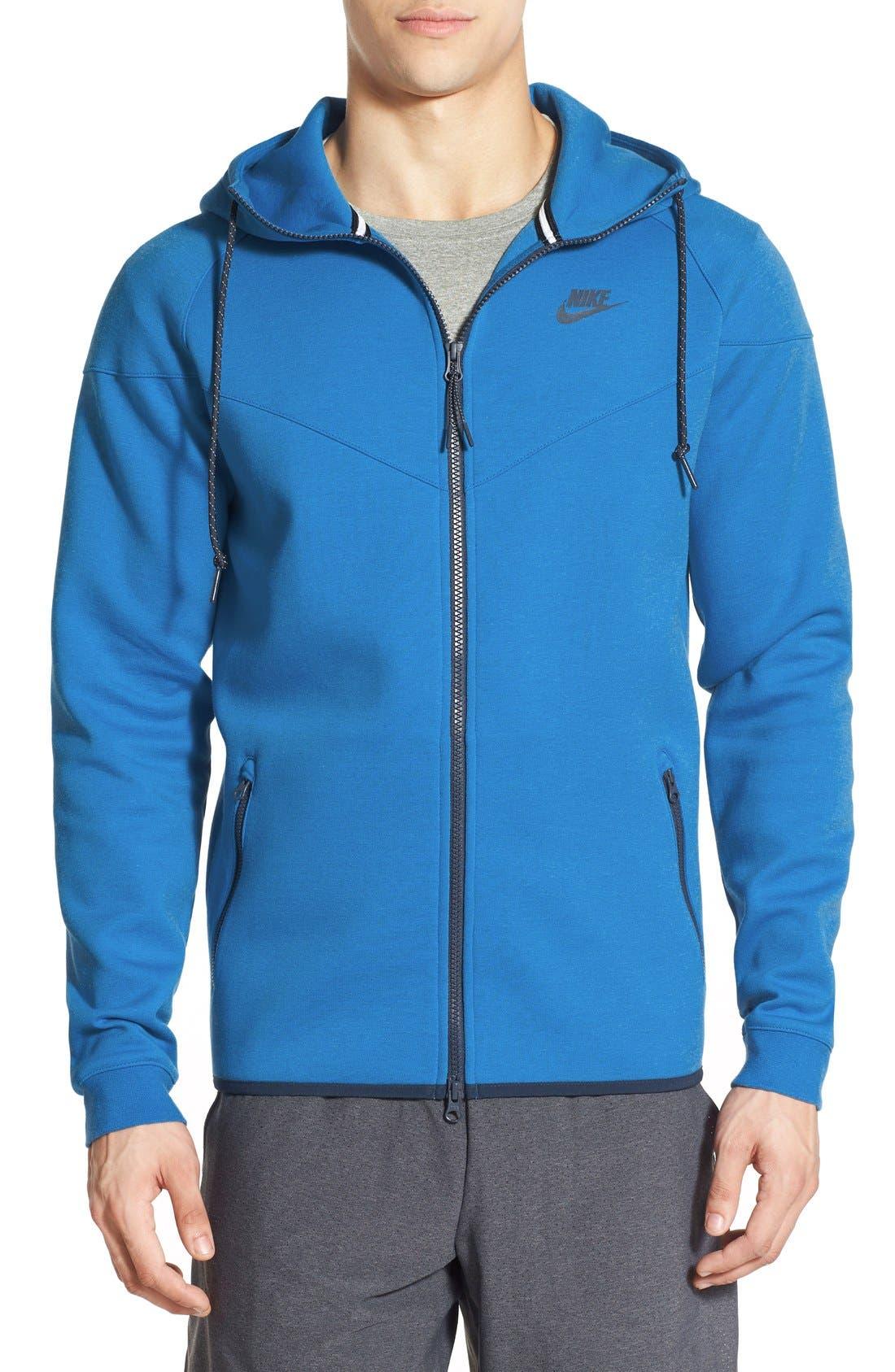 Alternate Image 1 Selected - Nike Water Repellent Tech Fleece Windrunner Jacket