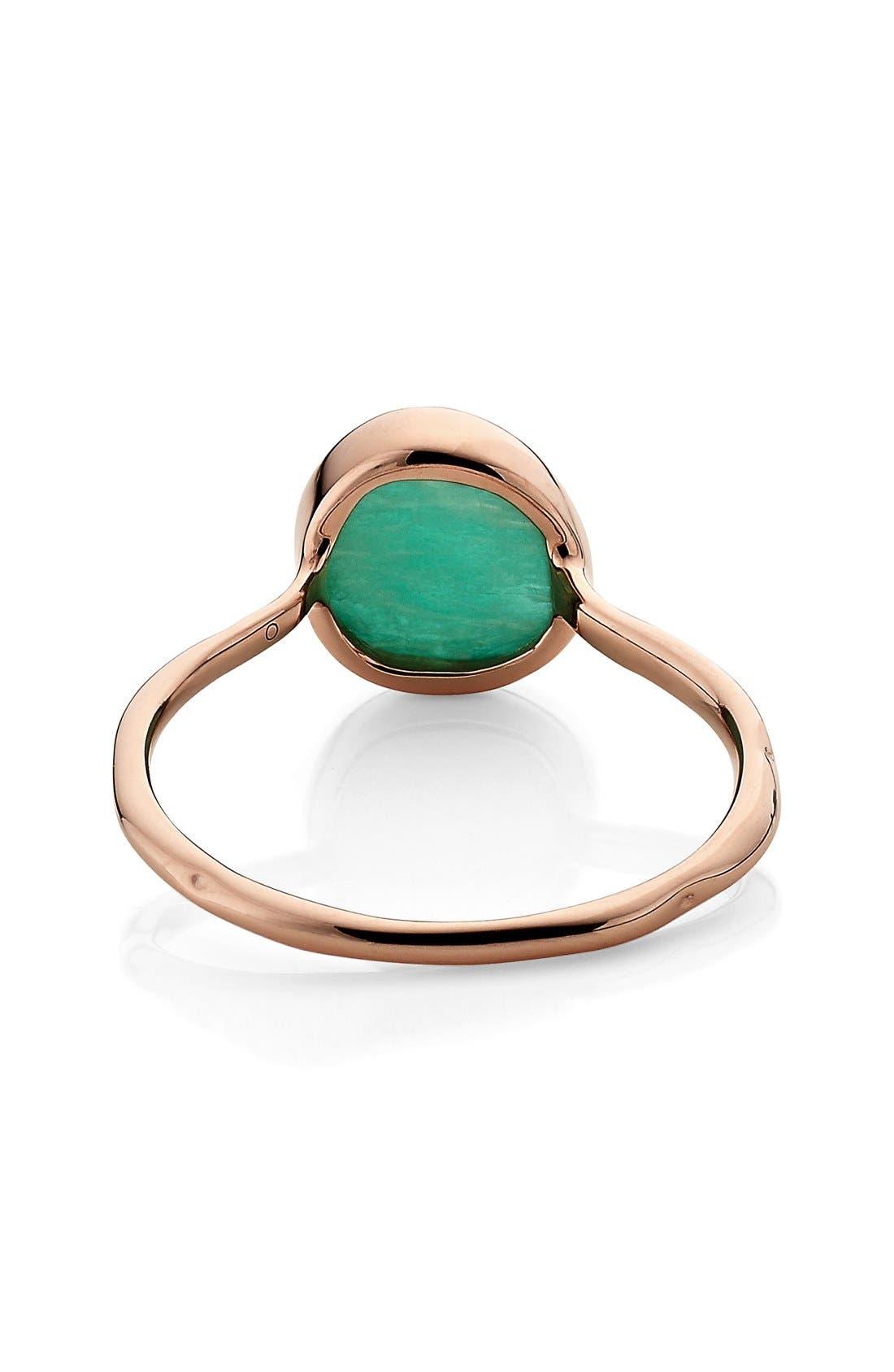 Alternate Image 3  - Monica Vinader 'Siren' Semiprecious Stone Stacking Ring