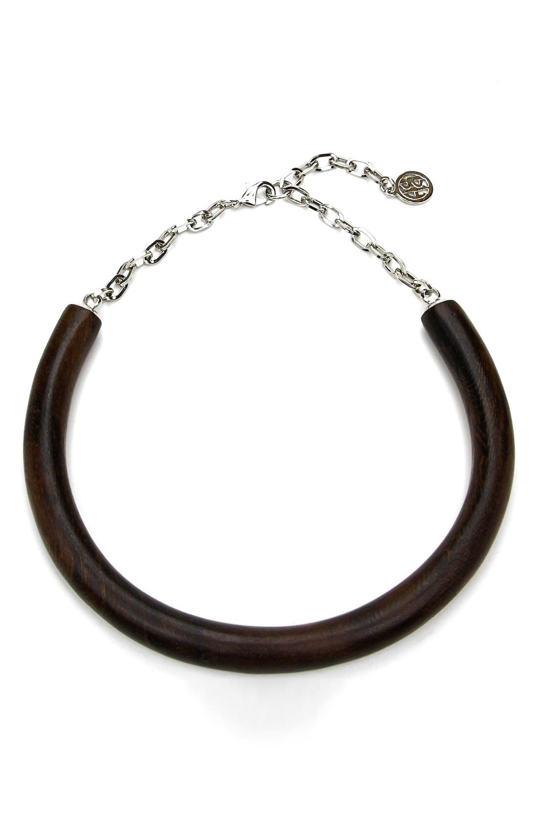 Ben-Amun Wood Collar Necklace