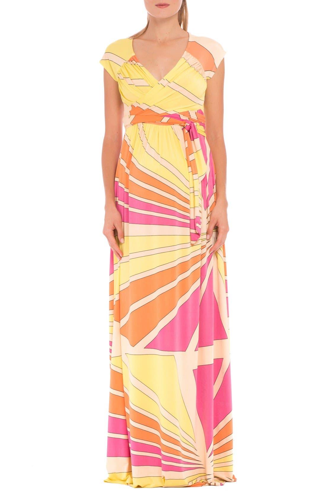 Olian 'Trisha' Maxi Maternity Dress