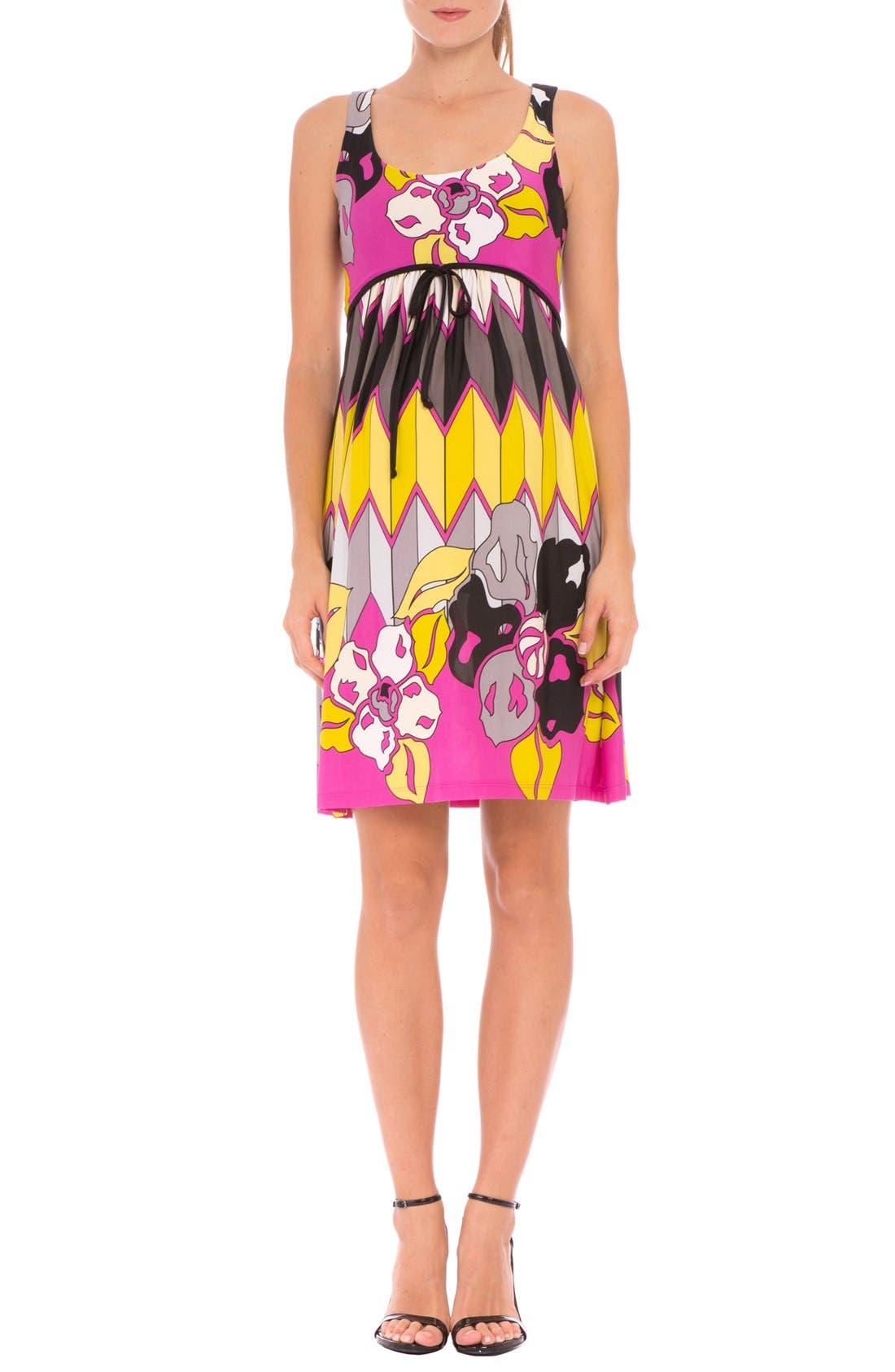 Olian 'Natasha' Print Maternity Dress