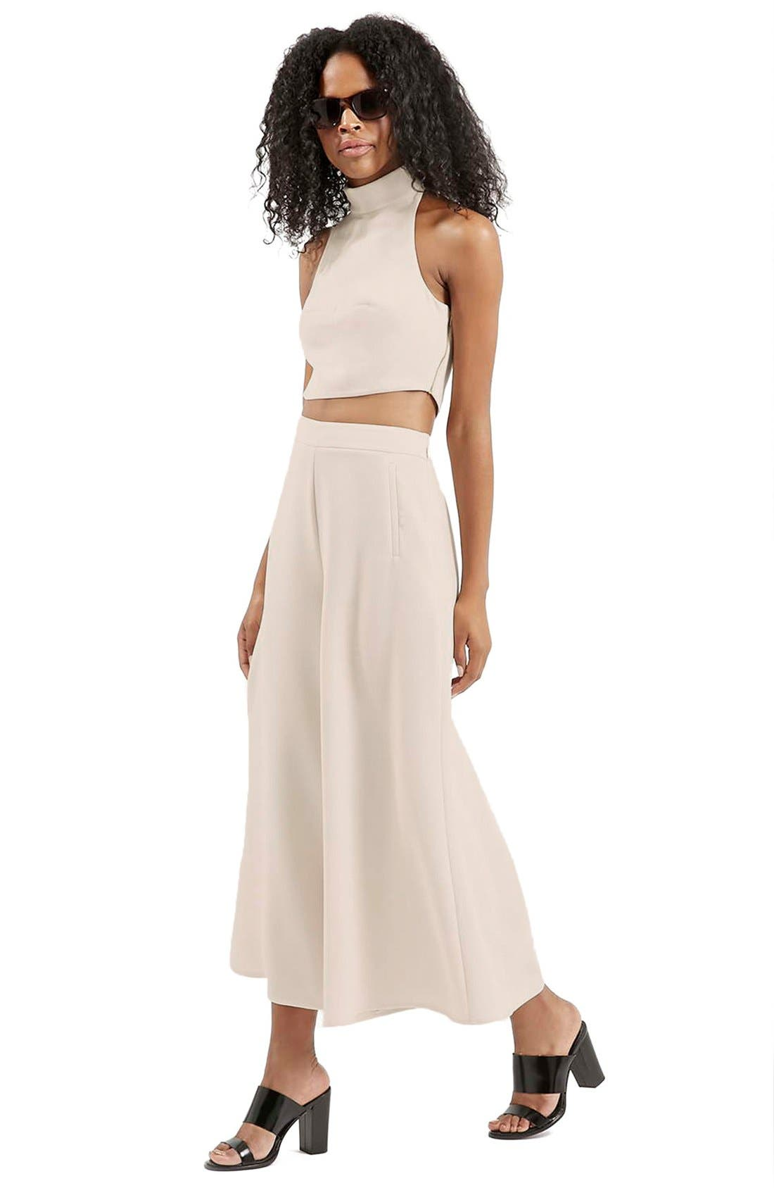 Alternate Image 2  - Topshop Palazzo Trousers