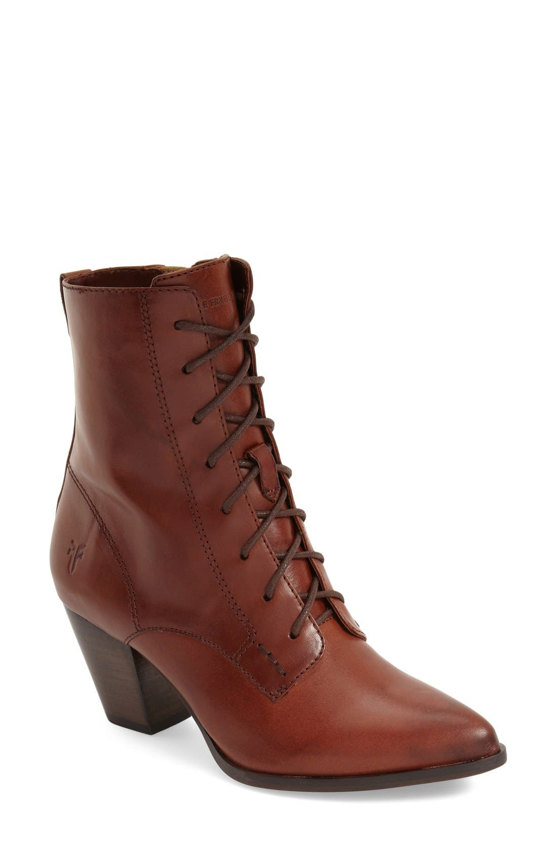 Alternate Image 1 Selected - Frye 'Renee' Lace Up Boot (Women)