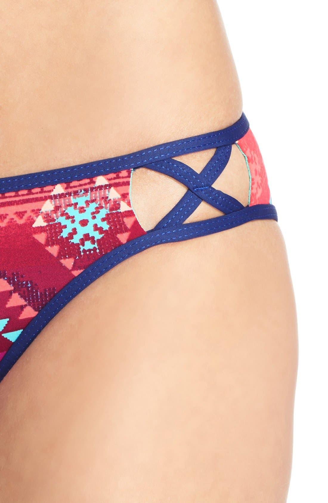 Alternate Image 3  - The Bikini Lab 'Girls Wanna Sun' Hipster Bikini Bottoms