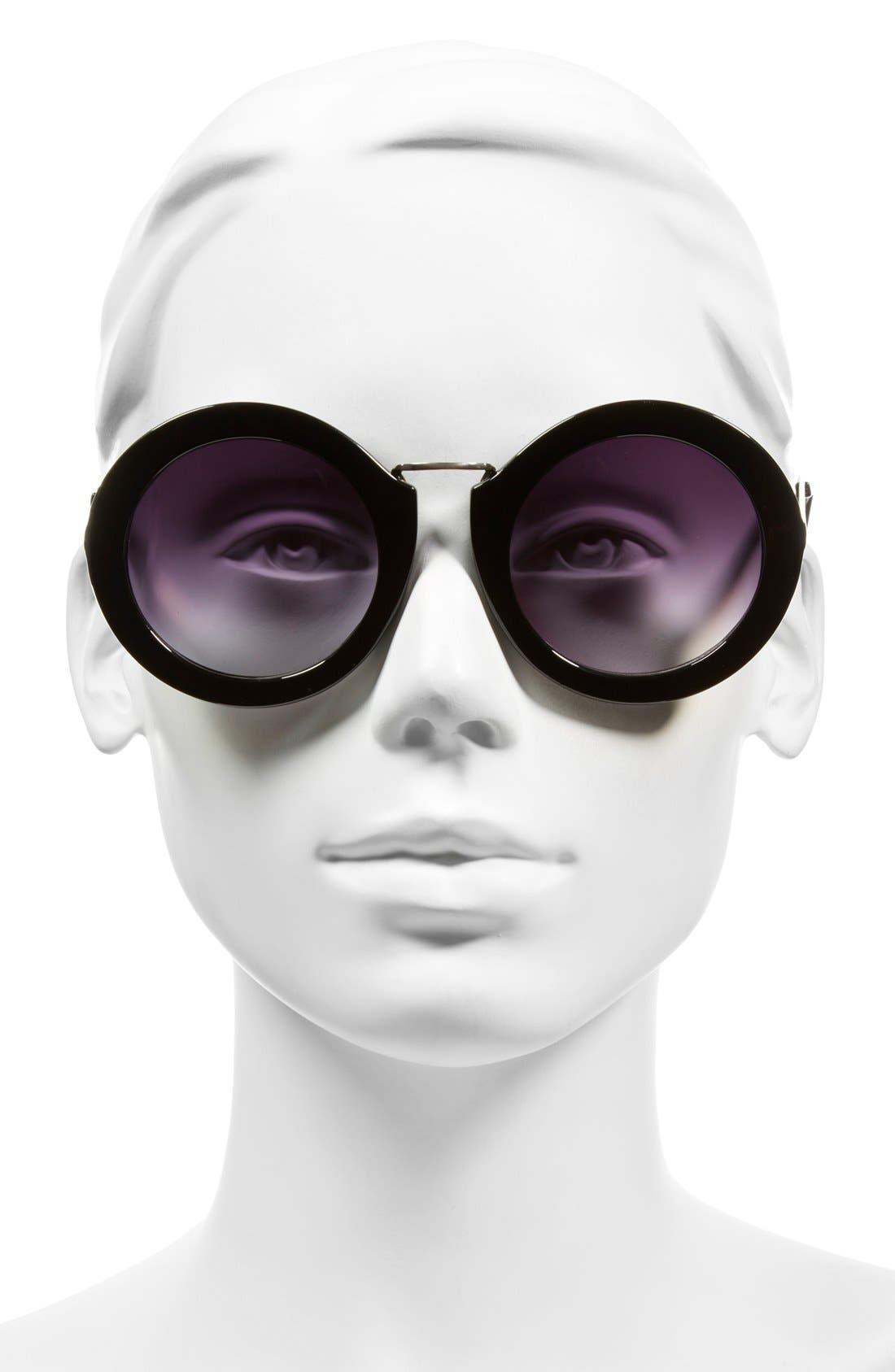 Alternate Image 2  - BP. 50mm Oversize Round Sunglasses