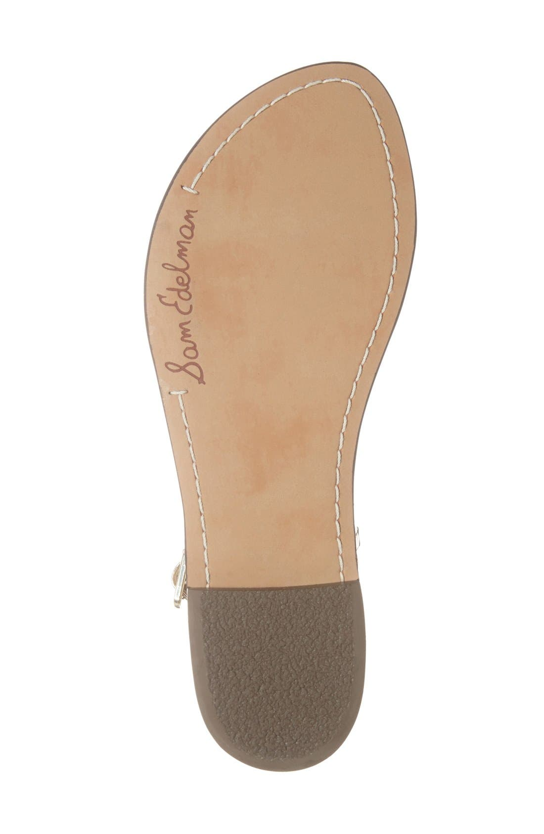 Alternate Image 4  - Sam Edelman Gigi Sandal (Women)