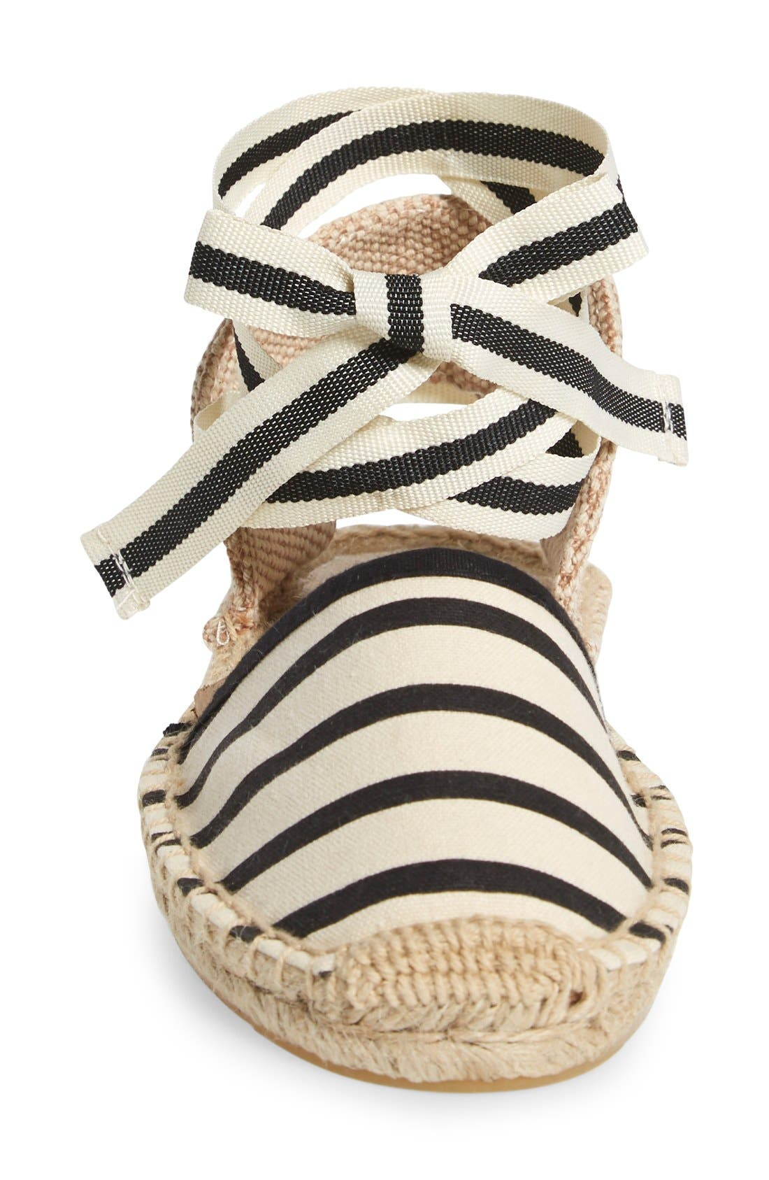 Alternate Image 3  - Soludos Lace-Up Espadrille Sandal (Women)