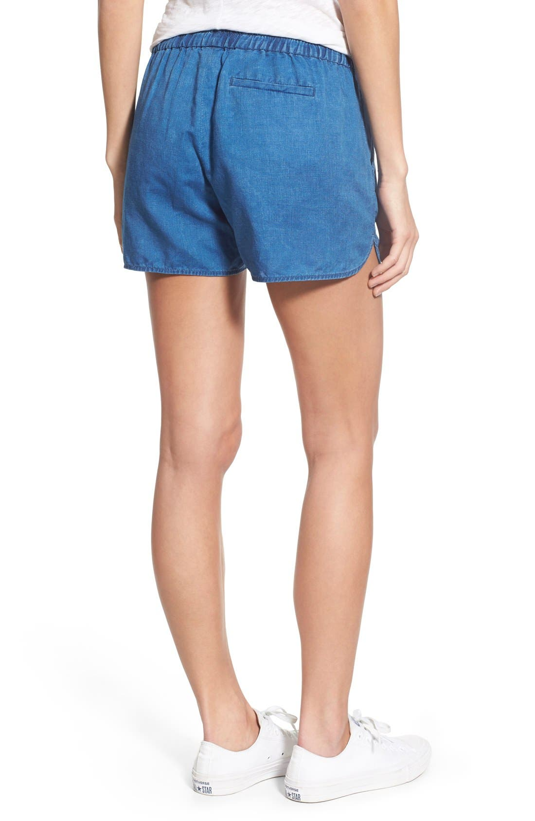 Alternate Image 2  - Madewell Linen & Cotton Pull-On Shorts
