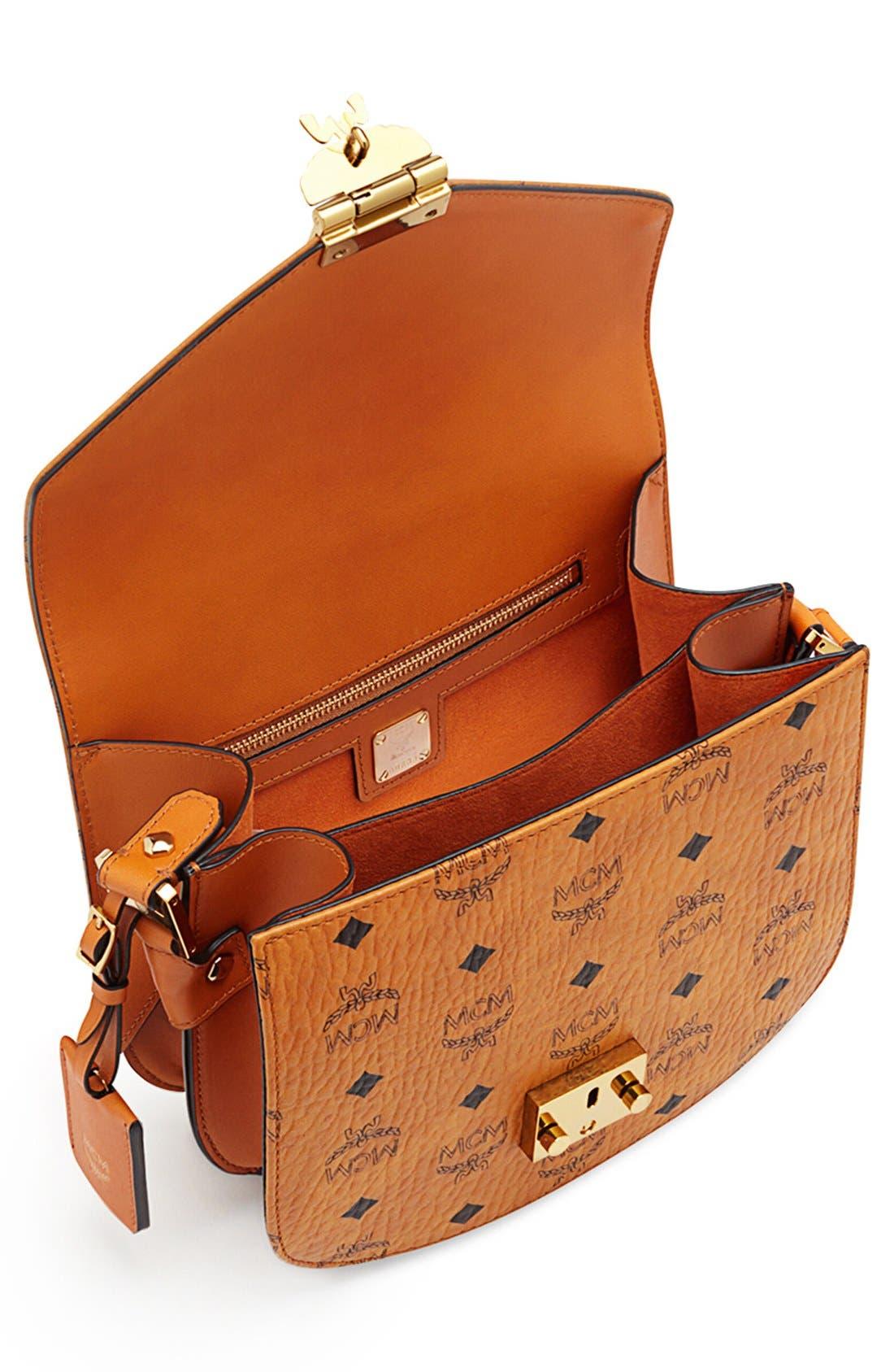 Alternate Image 4  - MCM 'Small Patricia' Visetos Coated Canvas Crossbody Bag