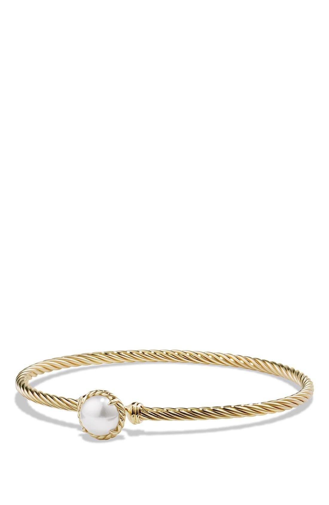 DAVID YURMAN 'Châtelaine' Bracelet with Garnet in 18K