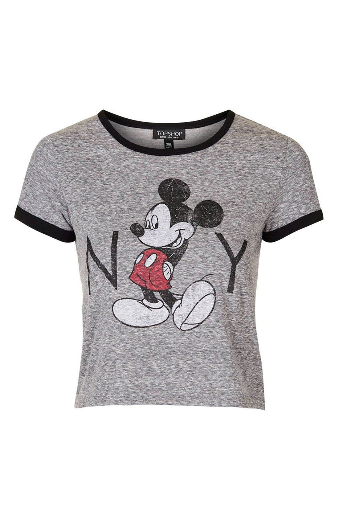 Alternate Image 5  - Topshop 'Mickey Mouse New York' Graphic Tee
