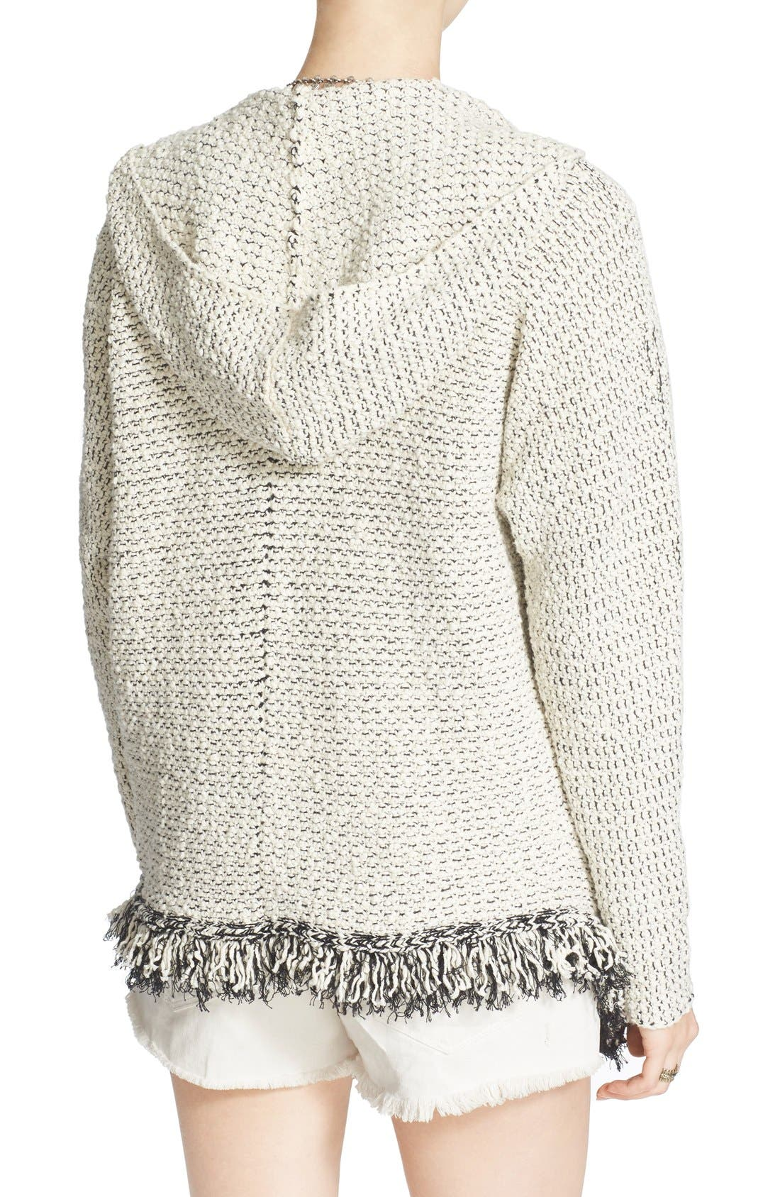 Alternate Image 2  - Free People 'Love Me Tender' Fringe Cardigan