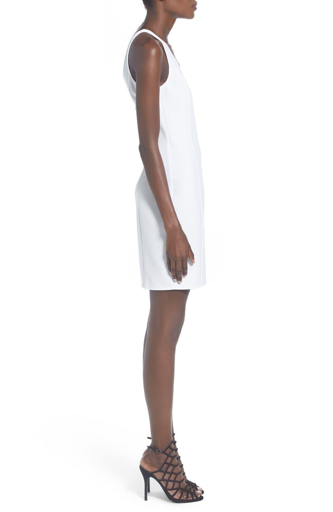 Alternate Image 3  - Leith V-Neck Sheath Dress