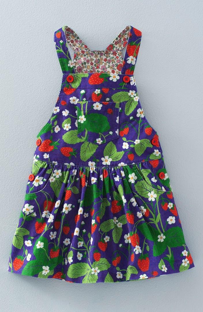Mini boden 39 dungaree 39 overall dress toddler girls little for Shop mini boden