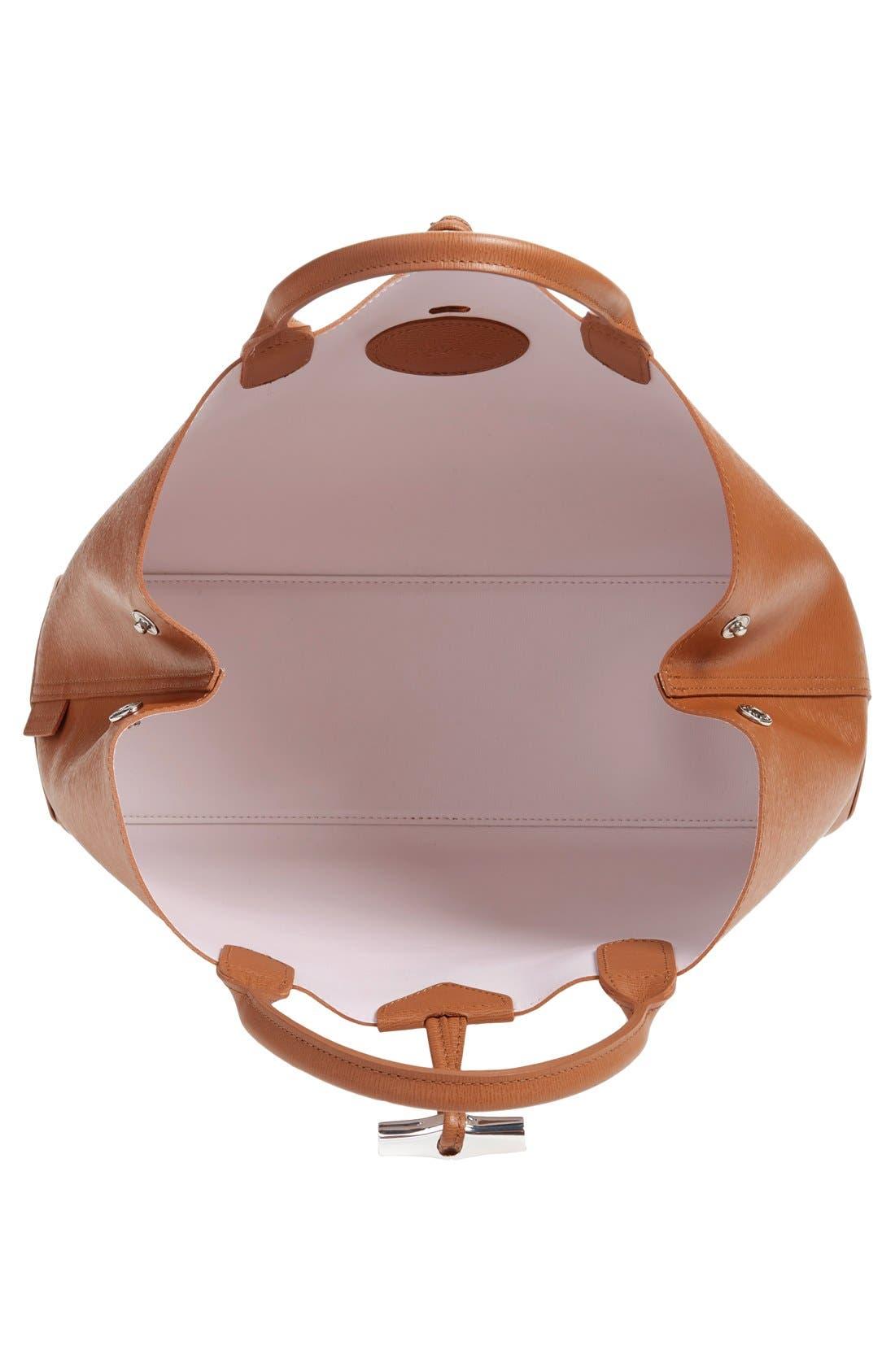 Alternate Image 4  - Longchamp 'Roseau' Reversible Tote