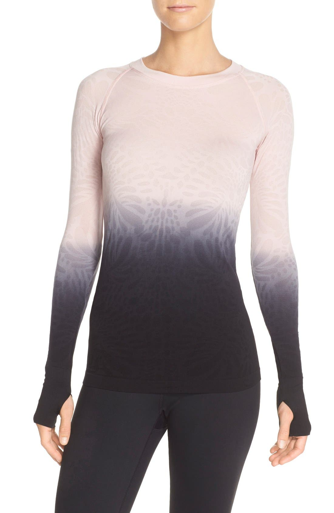 Climawear 'See the Light' Ombré Long Sleeve Tee