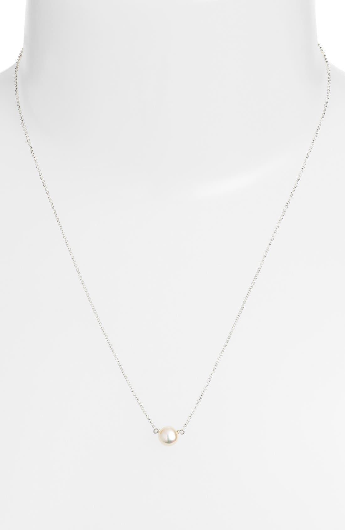 Alternate Image 3  - Dogeared Pearl Pendant Necklace (Nordstrom Exclusive)