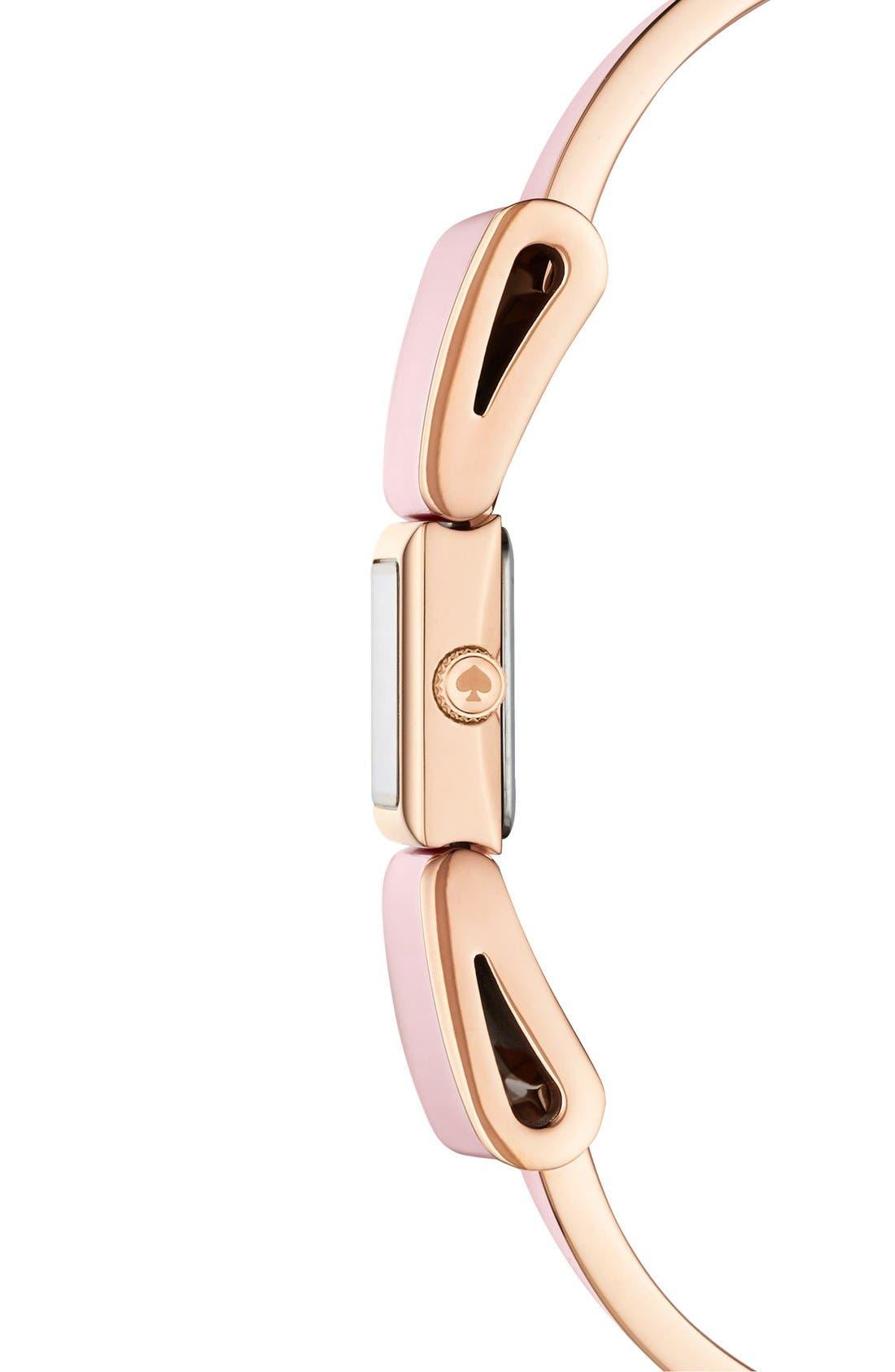 Alternate Image 2  - kate spade new york 'kenmare' bracelet watch, 15mm x 18mm