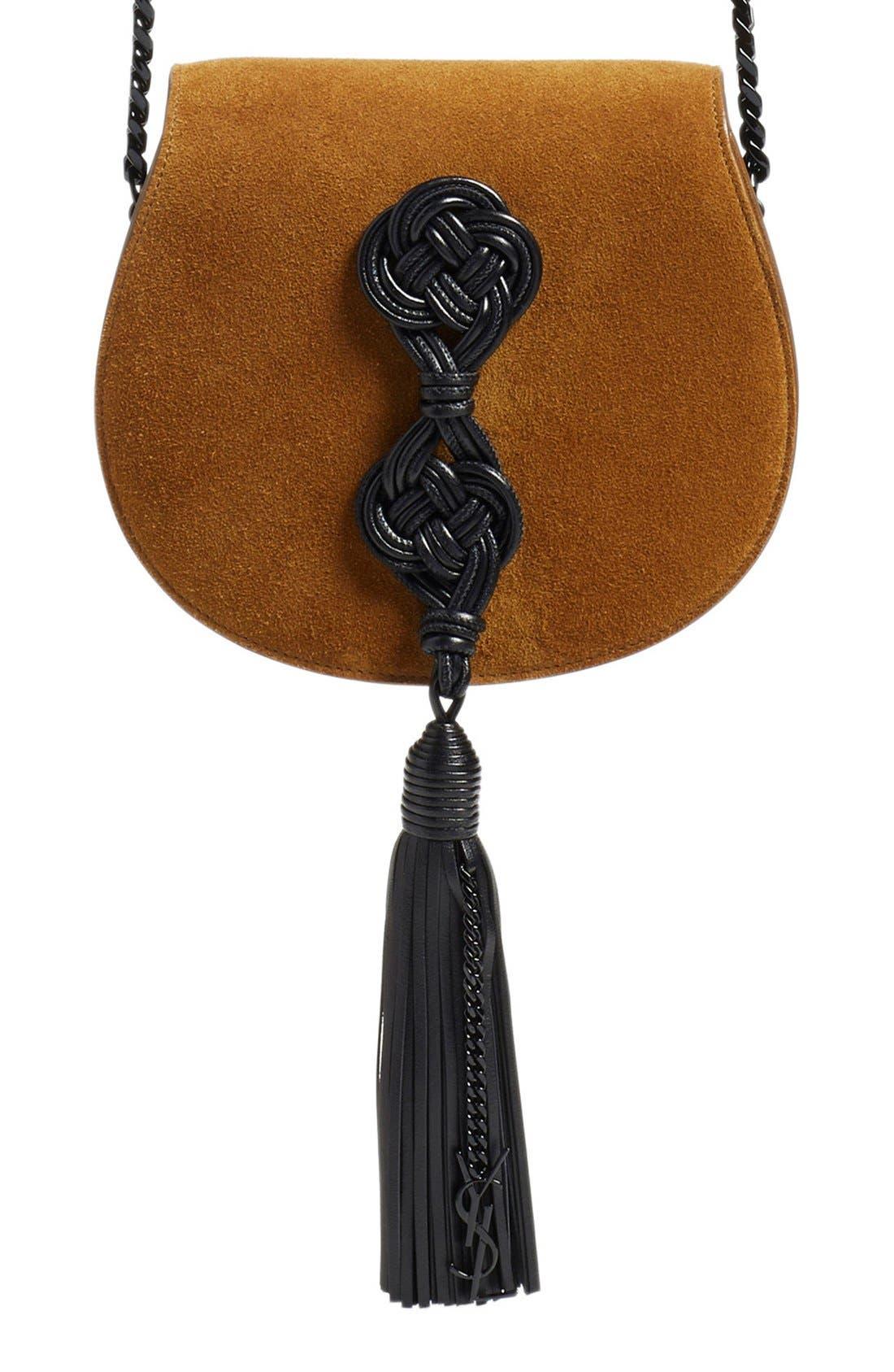 Main Image - Saint Laurent Passementerie Crossbody Bag
