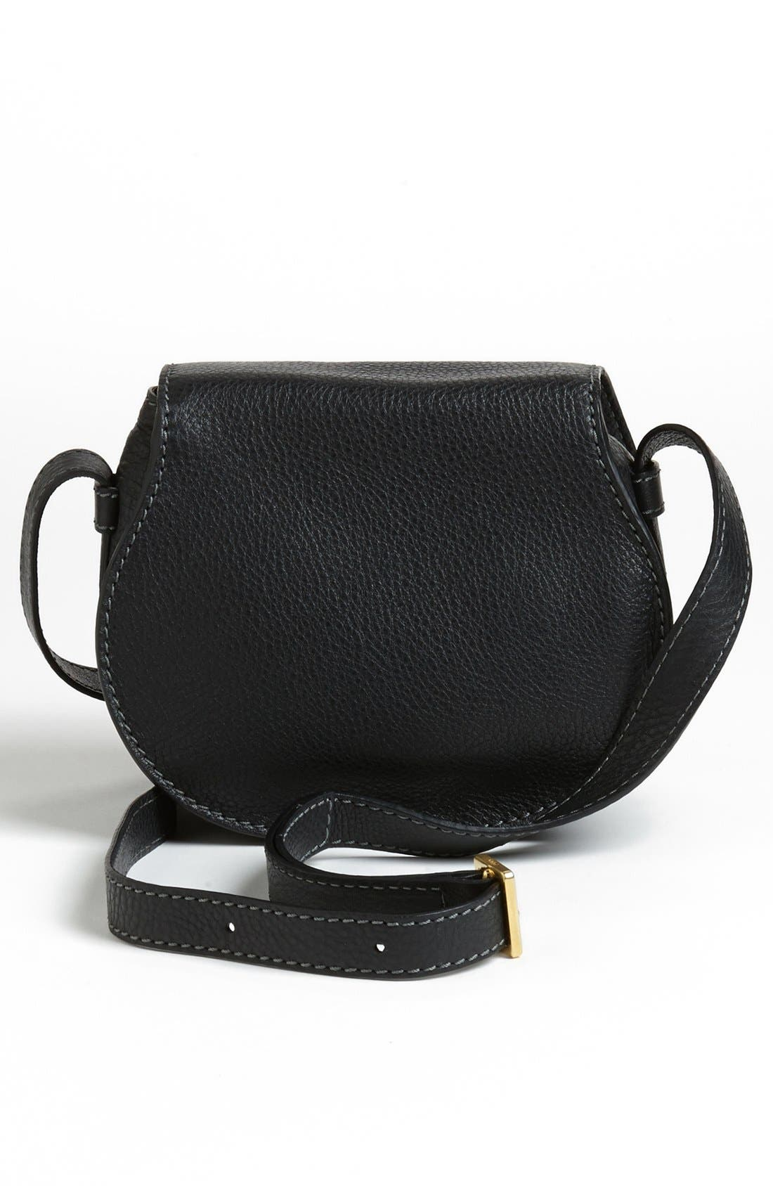 Alternate Image 3  - Chloé 'Mini Marcie' Leather Crossbody Bag