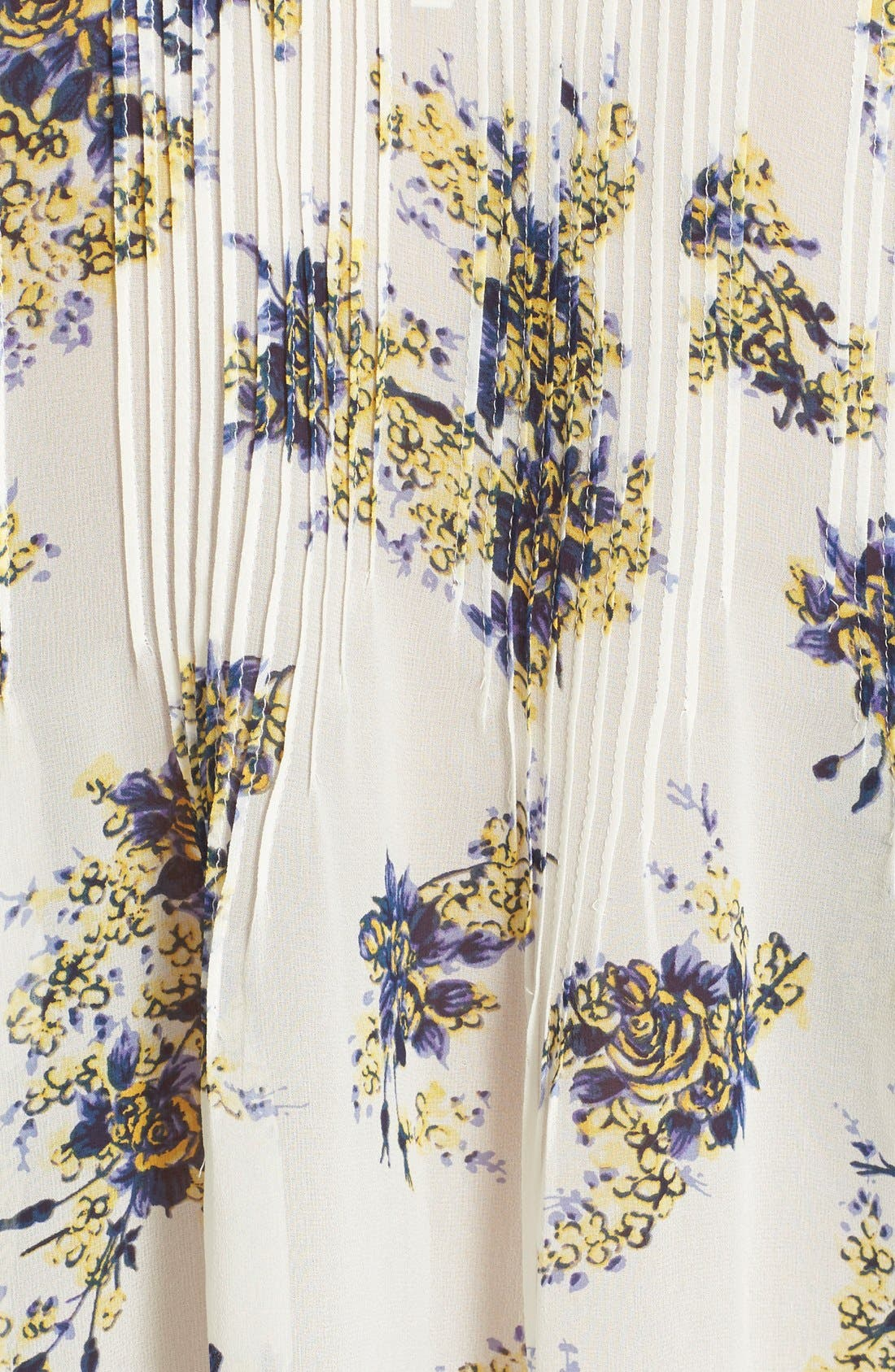 Alternate Image 5  - Joie 'Laurel B' Floral Print Silk Top