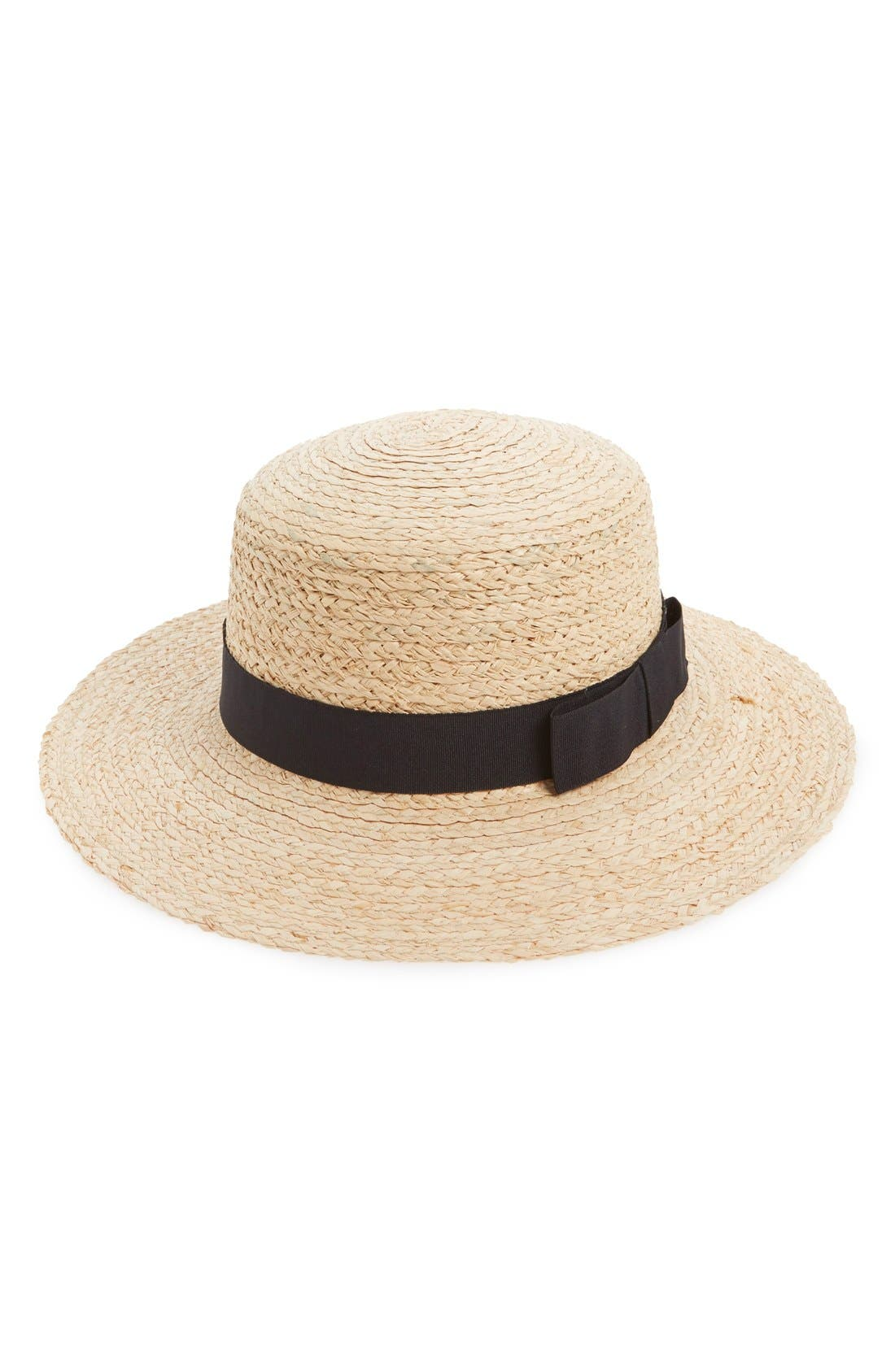 Alternate Image 1 Selected - Sole Society Floppy Straw Hat