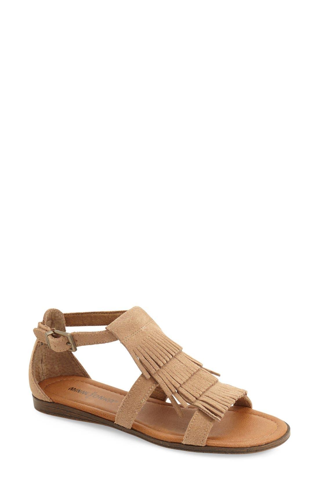 Alternate Image 1 Selected - Minnetonka 'Maui' Sandal