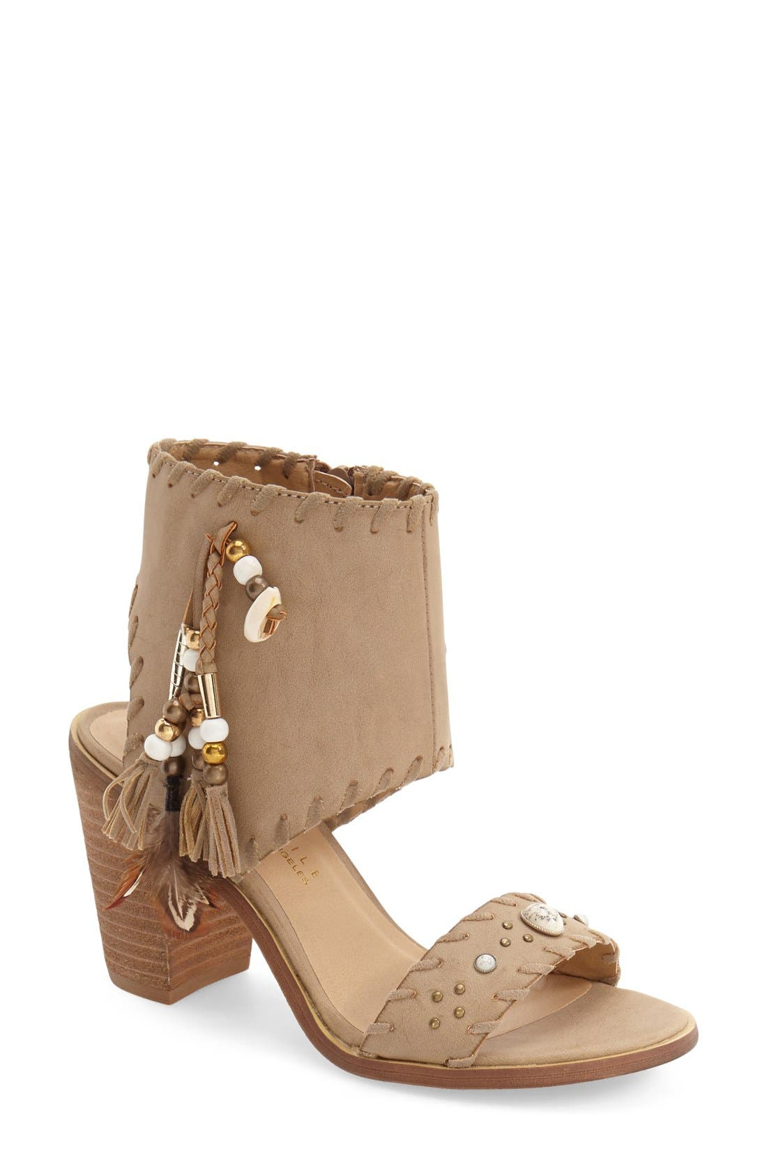 Alternate Image 1 Selected - Very Volatile 'Boho' Tassel Cuff Sandal (Women)