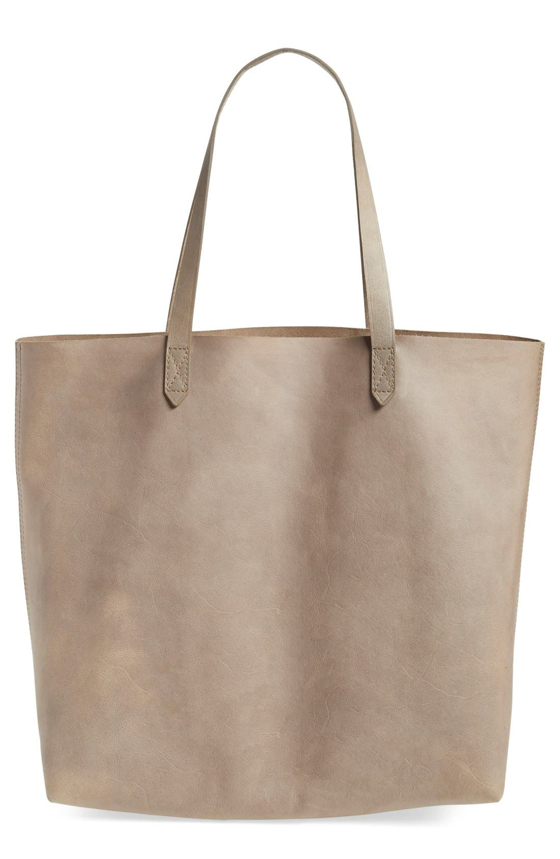 Alternate Image 1 Selected - Madewell 'Transport' Leather Tote