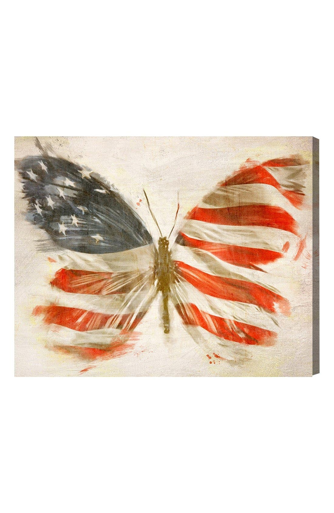Alternate Image 1 Selected - Oliver Gal 'American Butterfly' Canvas Art